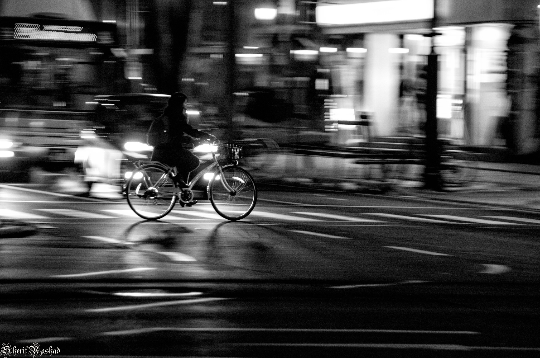 Late at night by Sherif Rashad