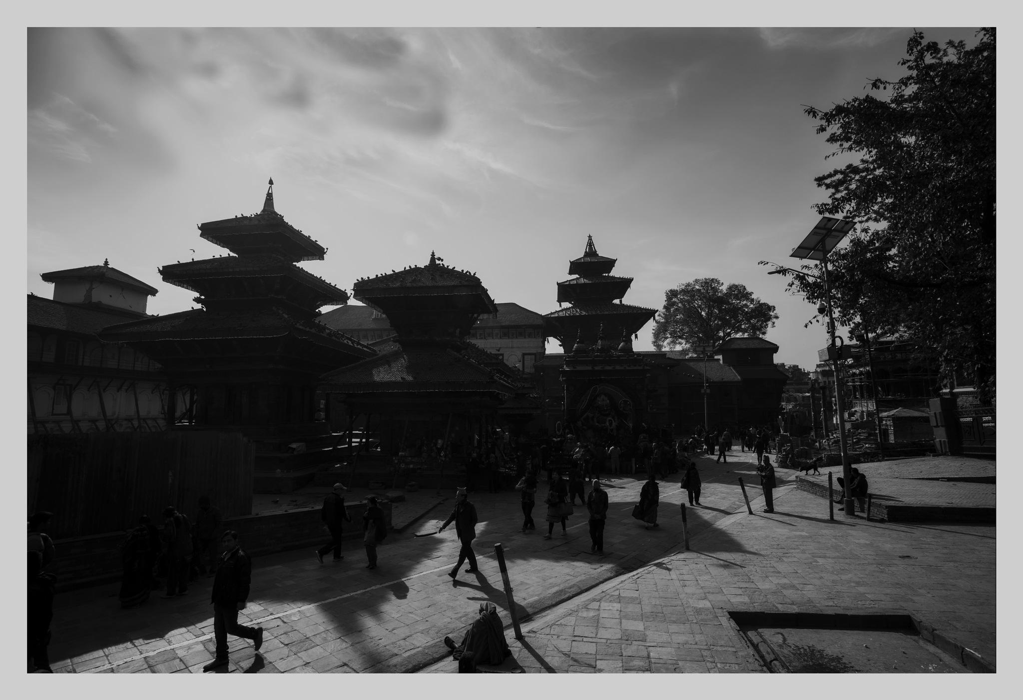 Kathmandu Durbar Square.  by Ranjit Shrestha