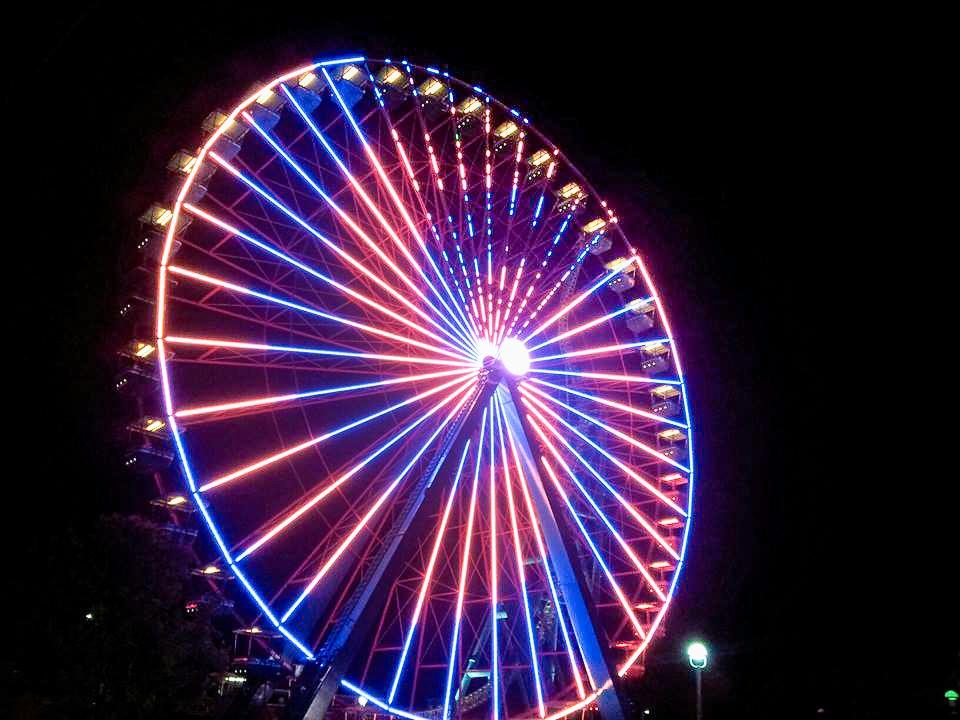 Dizzying Wheel by Justin Zelm