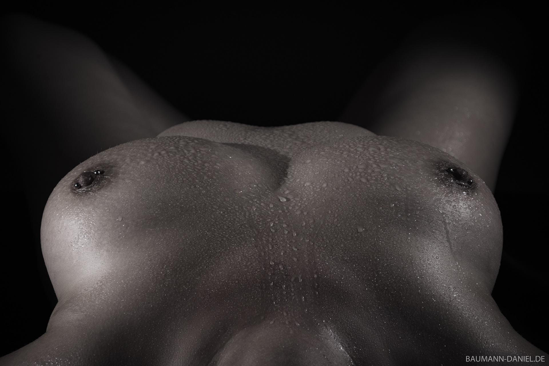 Wet Breast by D.BAUMANN