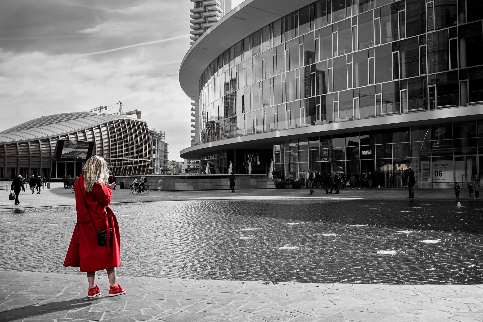 city in red by francescogelati