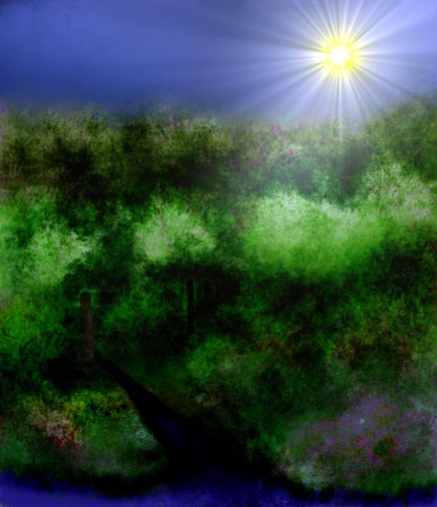 """""""The Sunny Scenery"""" by Aila Hokkanen"""