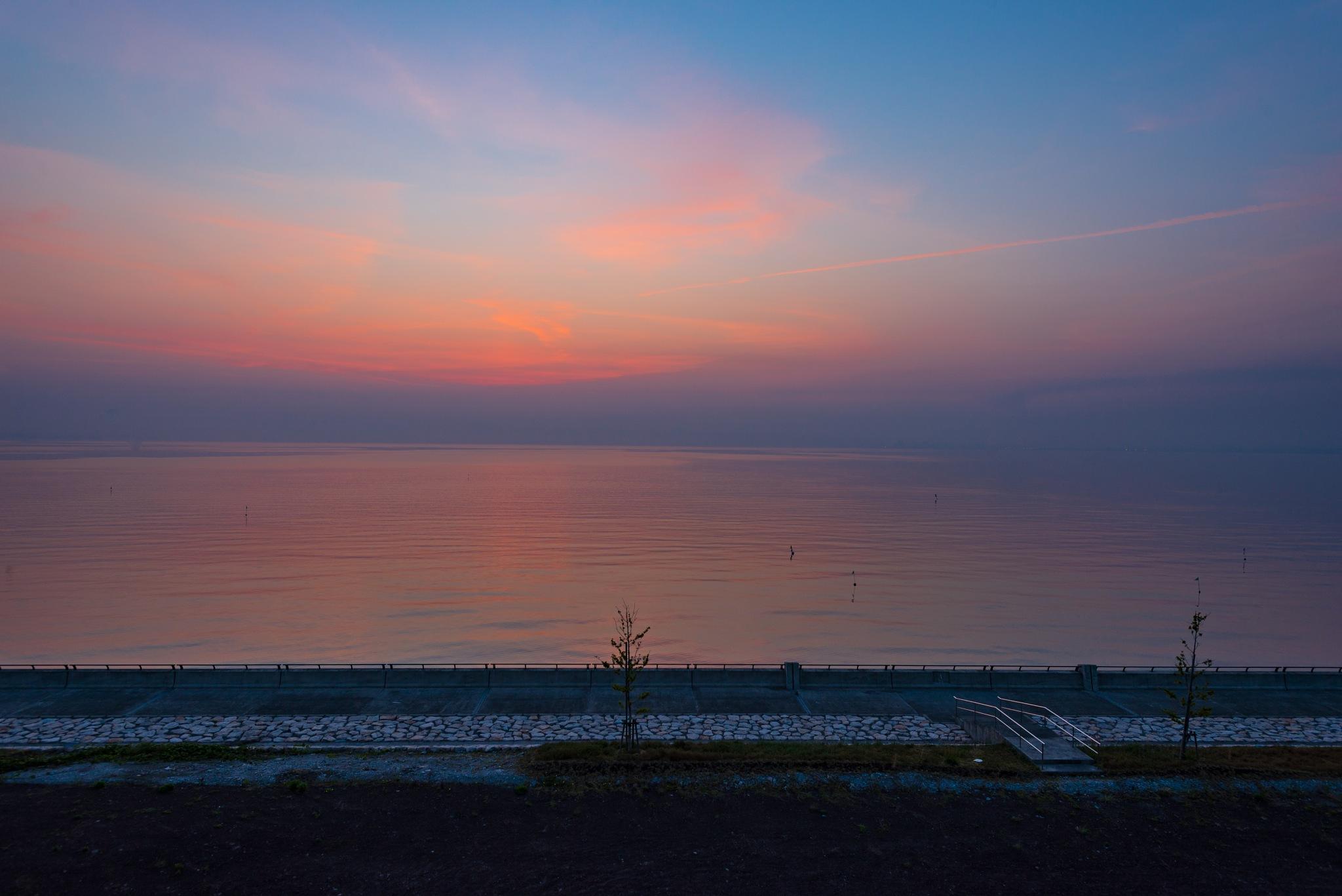 Sunrise at Beppu by Tat Hei Lambert Chan
