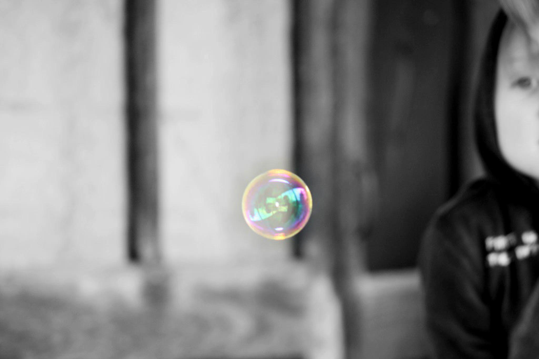 eye on the bubble by Sandy Beasley Seymore