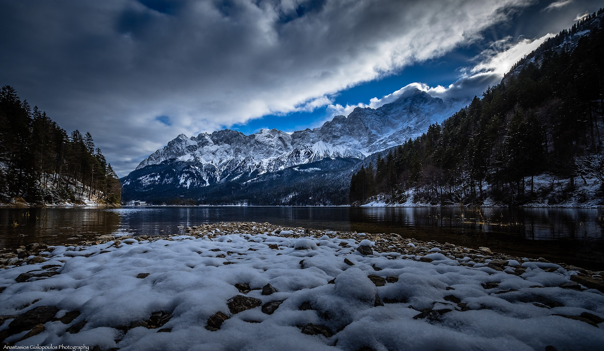 The Eibsee by Anastasios Gialopoulos