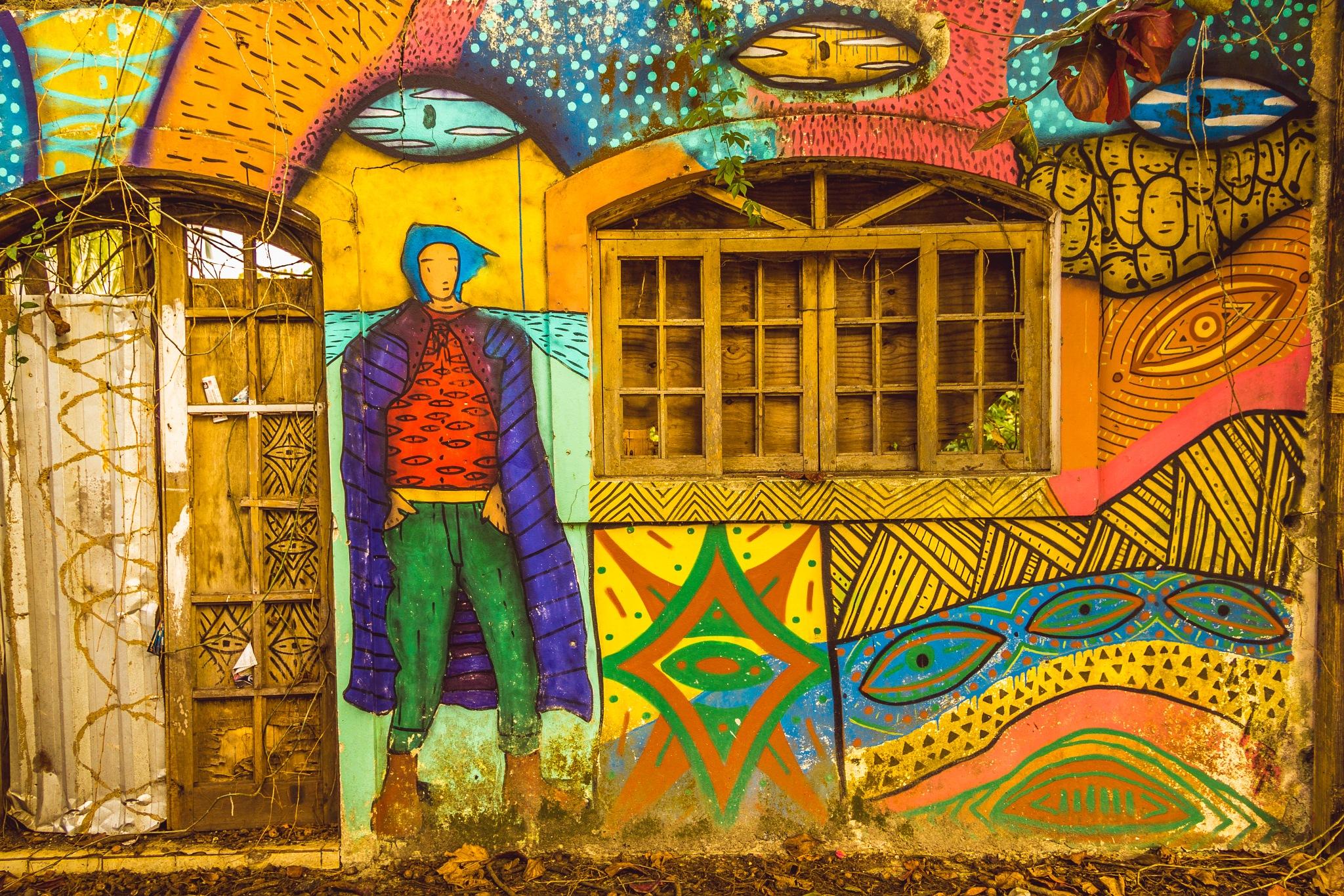 Arte largada na rua by Millepez Etzel