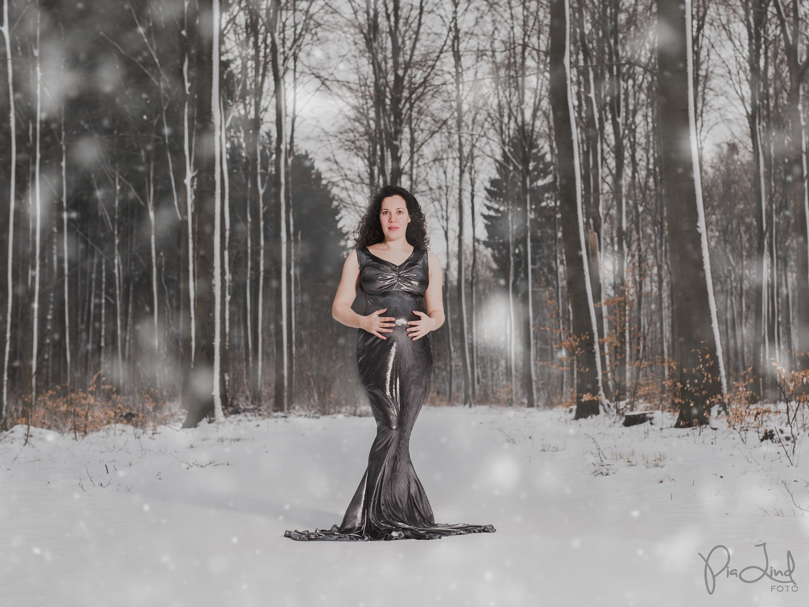 Snowing Silver by Pia Lindstrøm