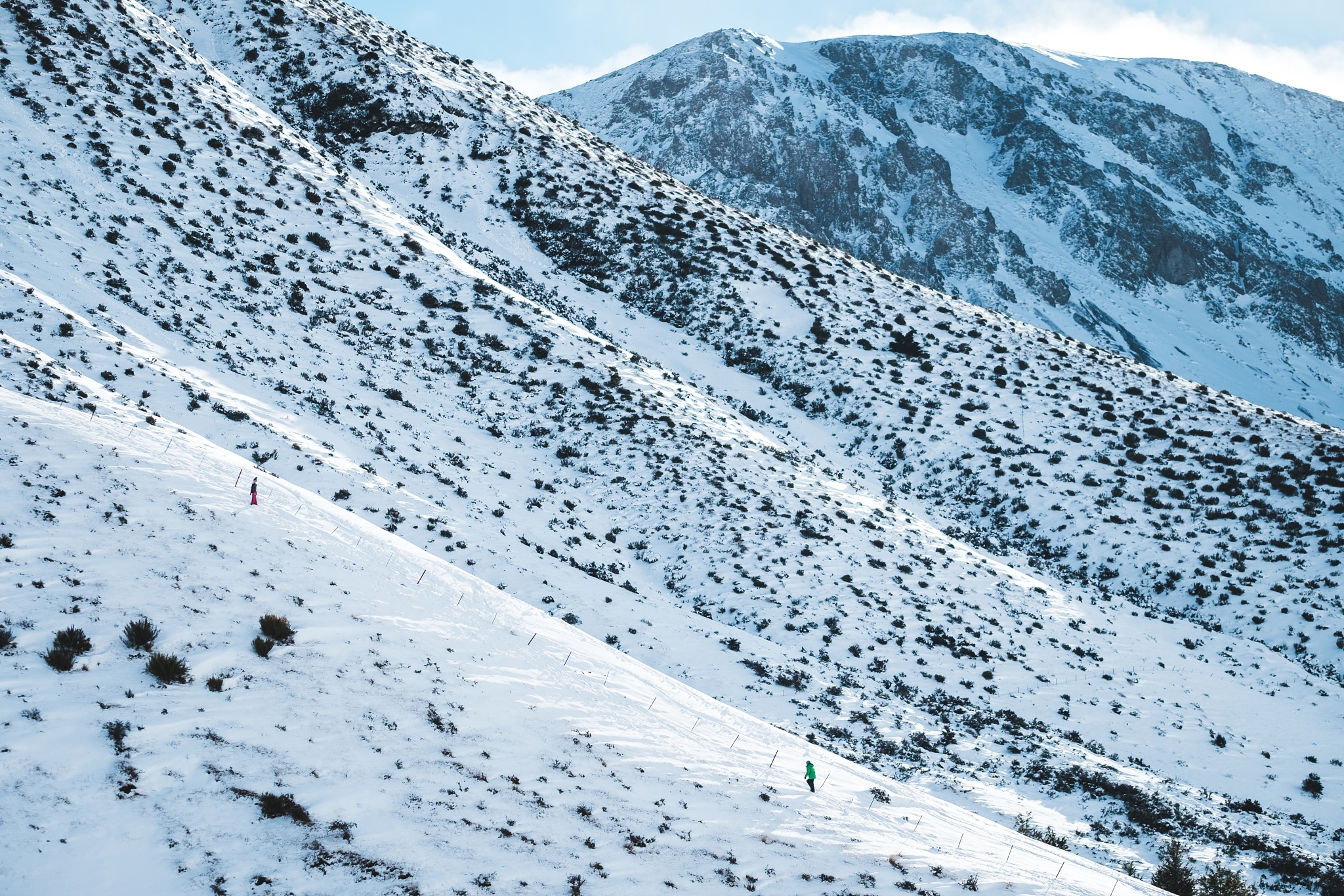 Temporary Ski Field by Luke Lee