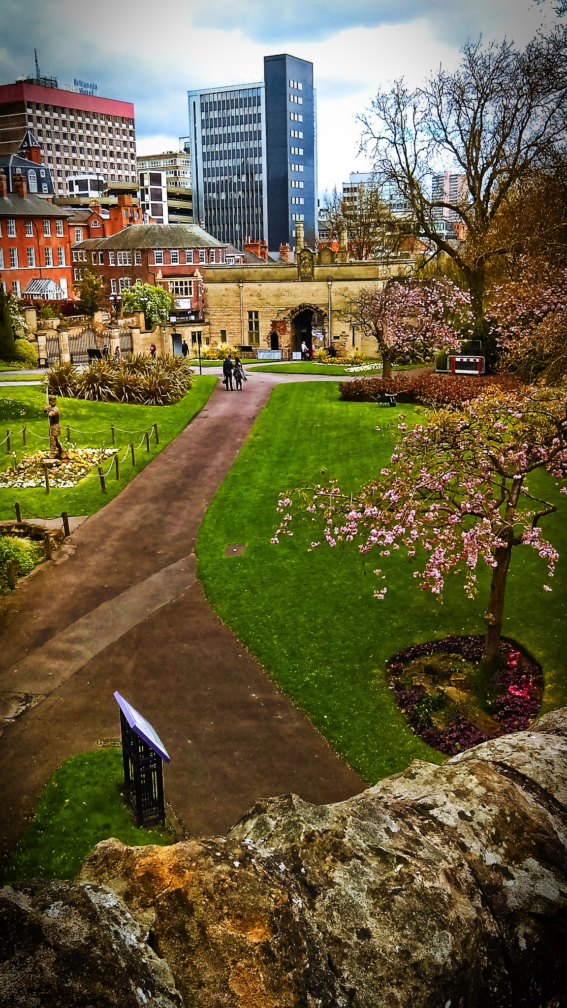 Nottingham Castle by Rob Morgan