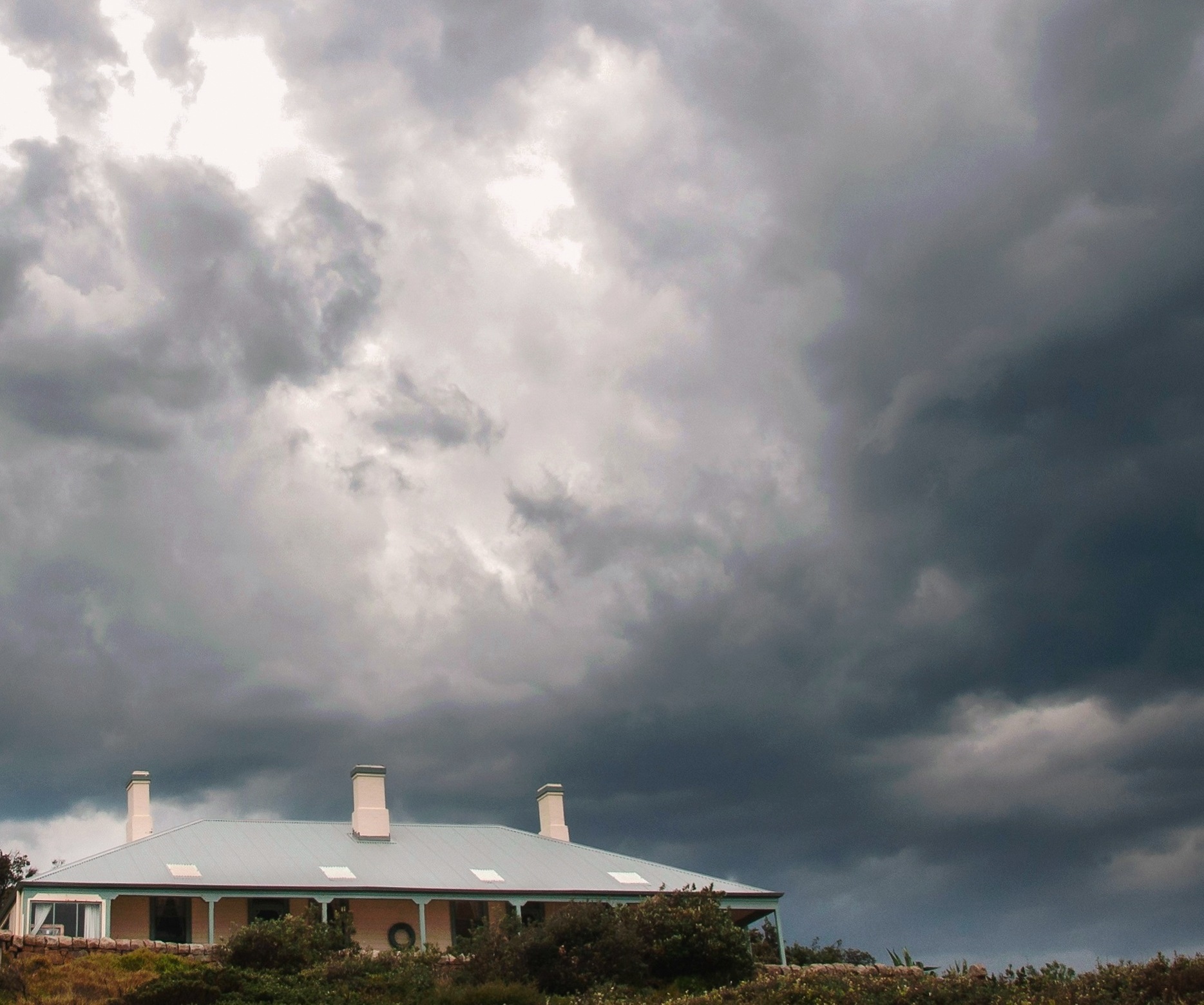 Return to the lighthouse storm  by Peter Lawrence