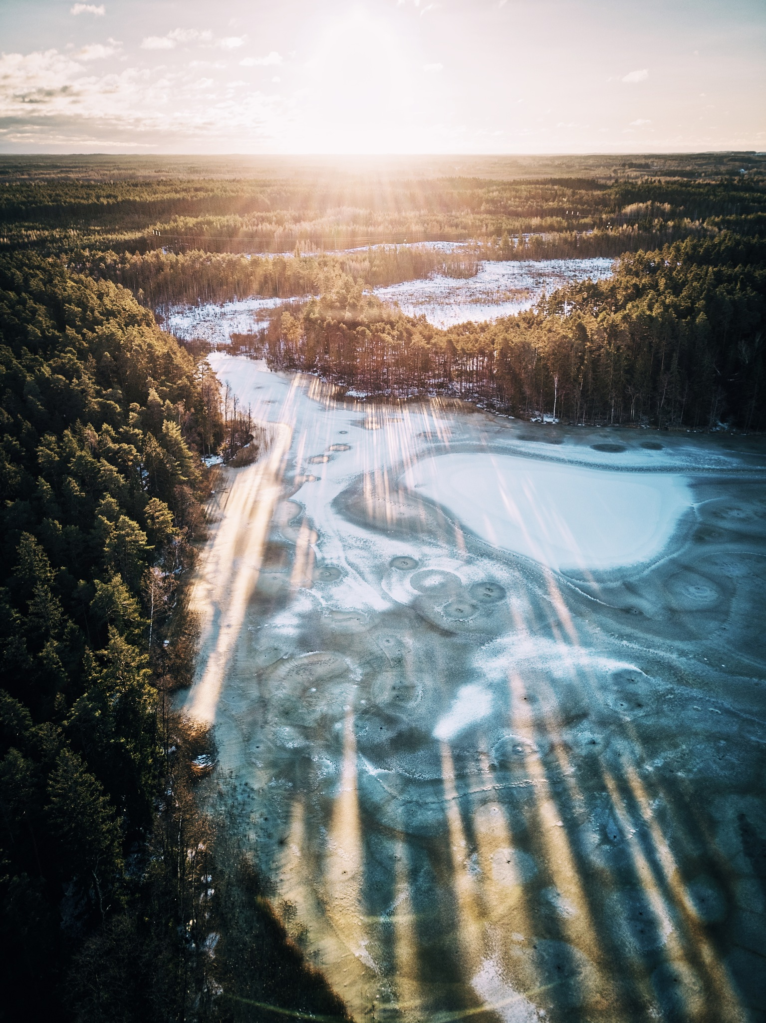 First rays of Sun by Hendrik Osula
