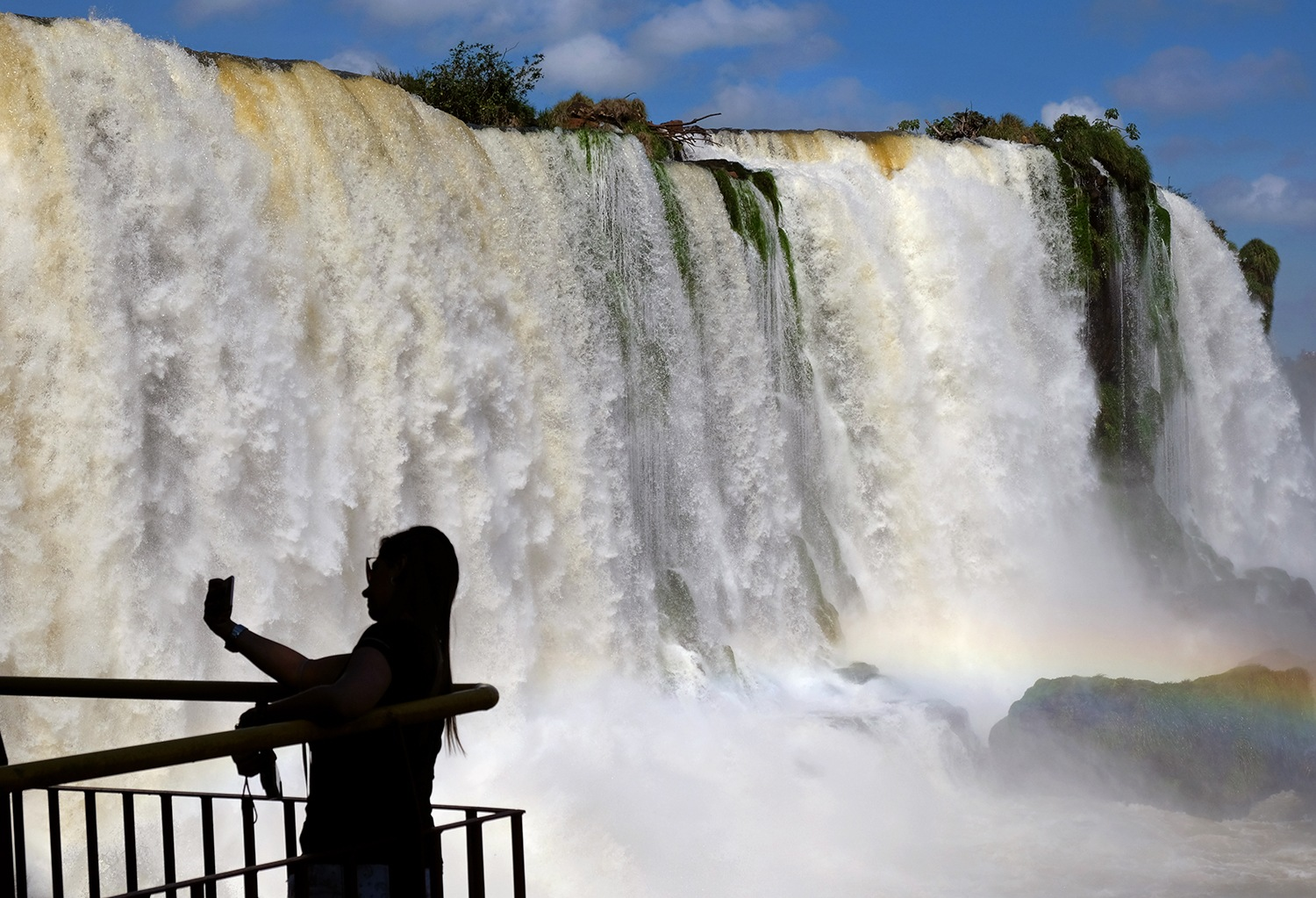 Selfie on the Falls by Pavlos Euthymiou