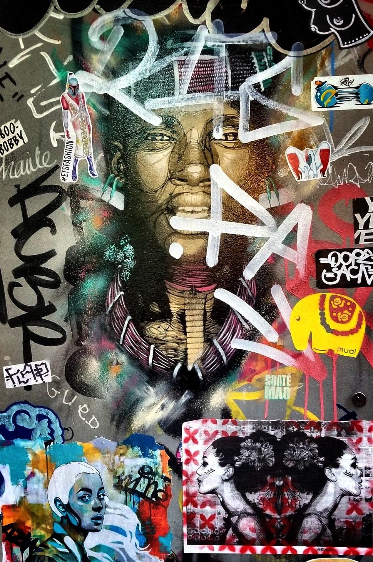street art by Tony Kao