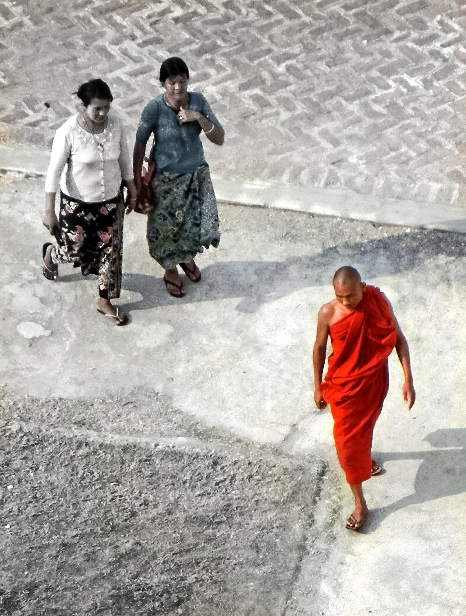 Monk by Tony Kao