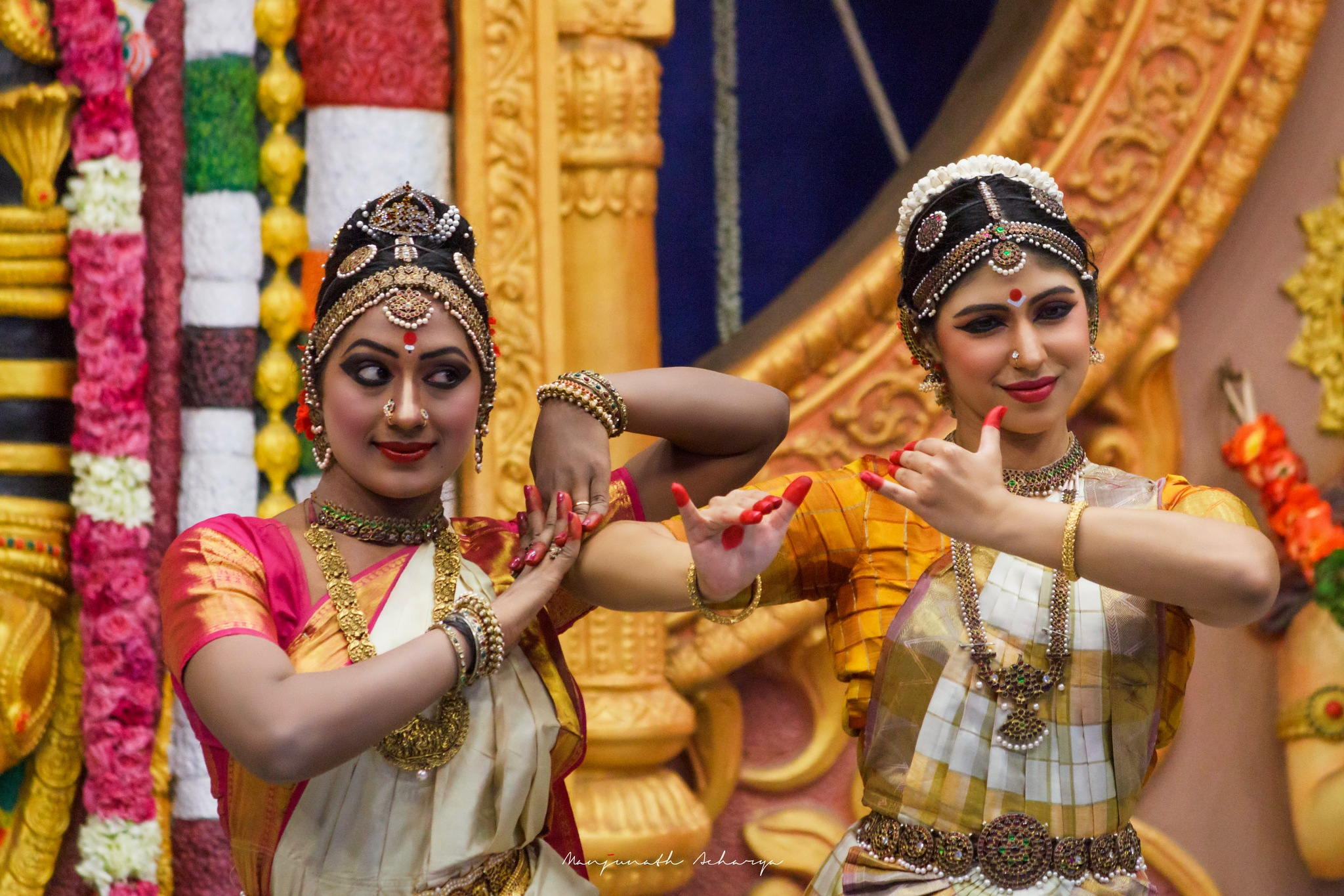 Dancers in Action by Manjunath R Acharya