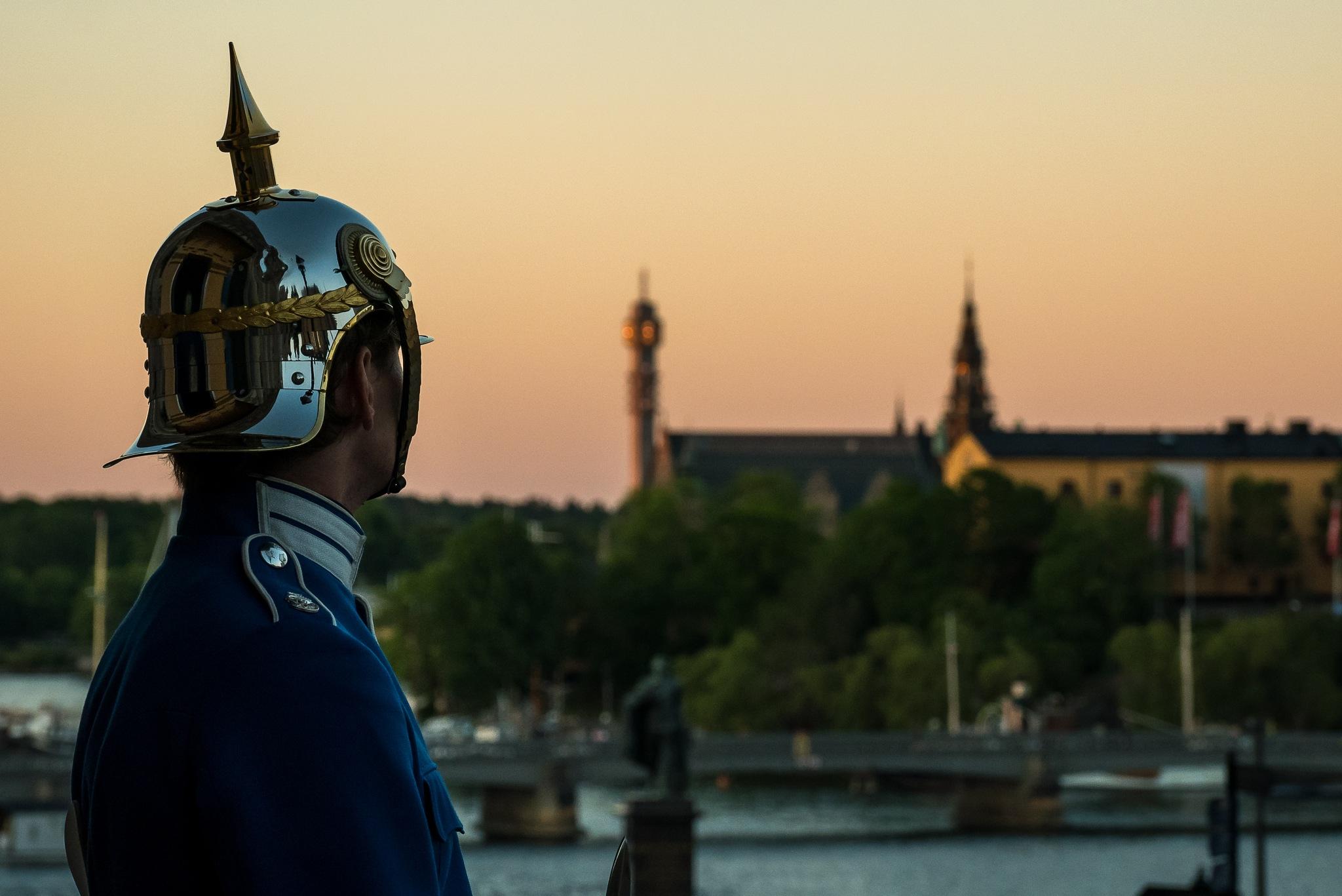 Royal Gard of Stockholm  by Mats Bodlund