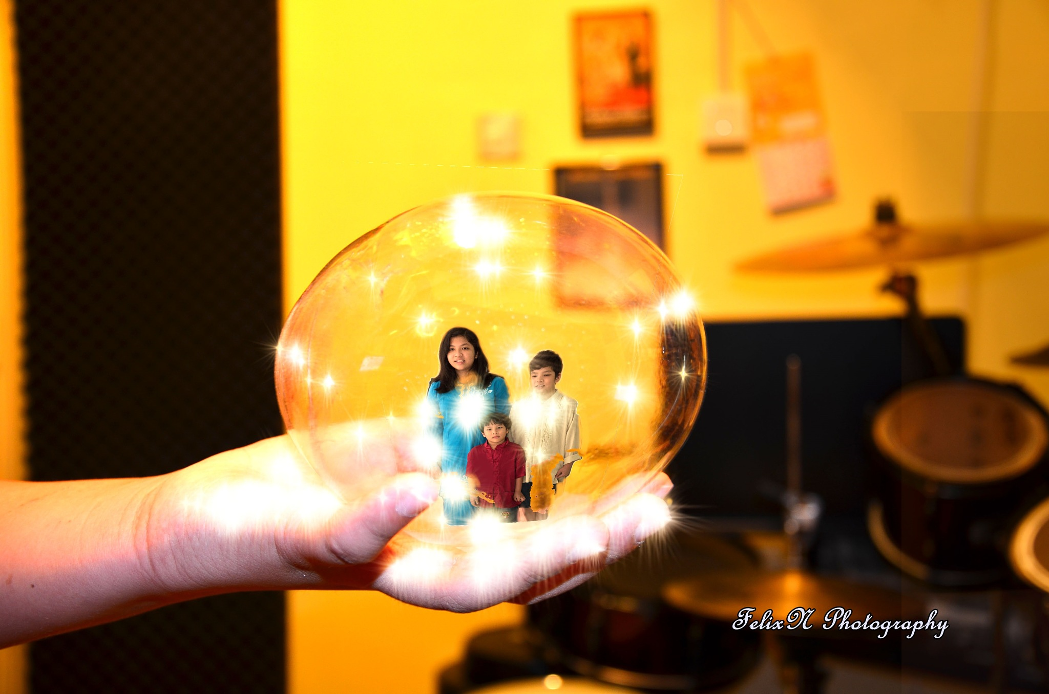 Used to place my kids in a bubble by FNA/LKN