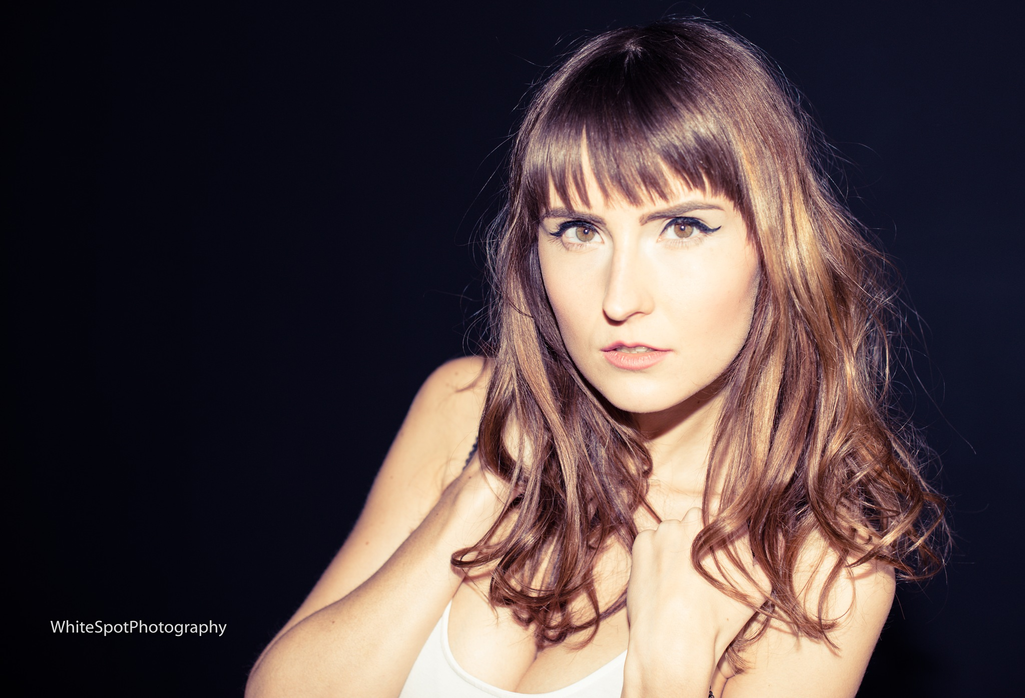 Jessica in Light by White Spot Photography