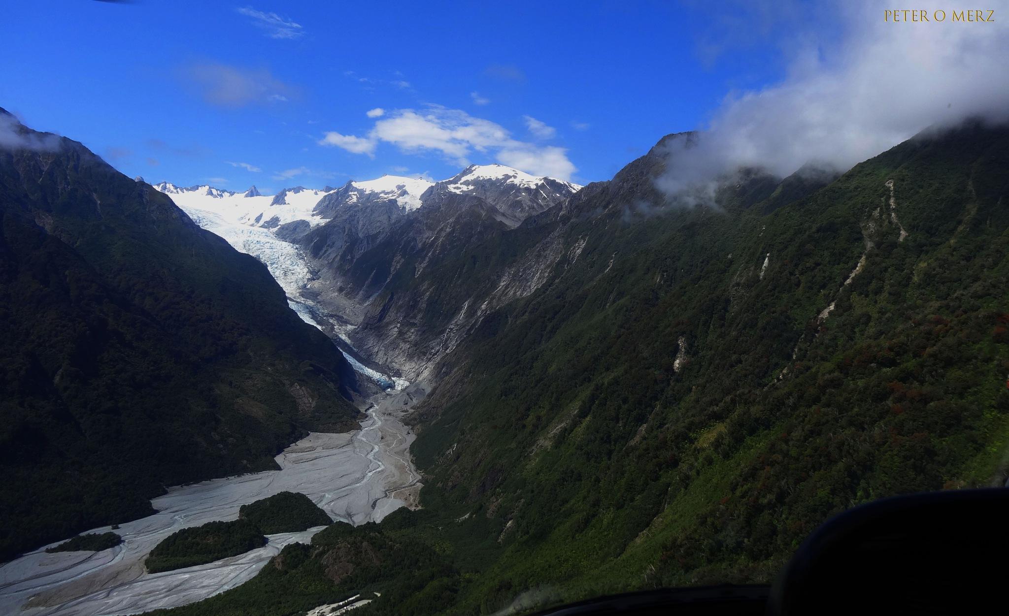 Franz Josef Glacier NZ by Peter O Merz