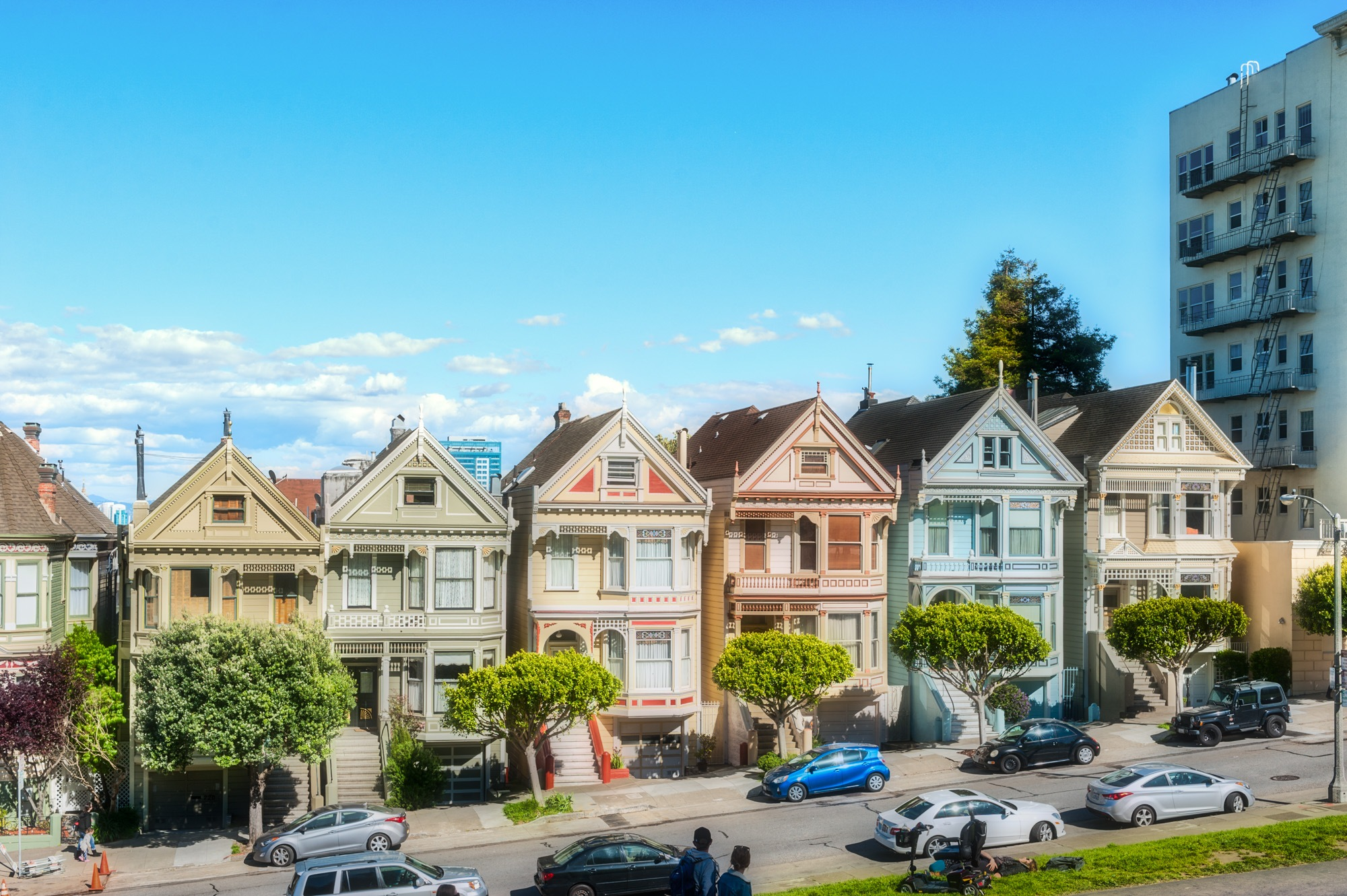 The Painted Ladies  by Frank Leskova (FL Portraits & Travel)