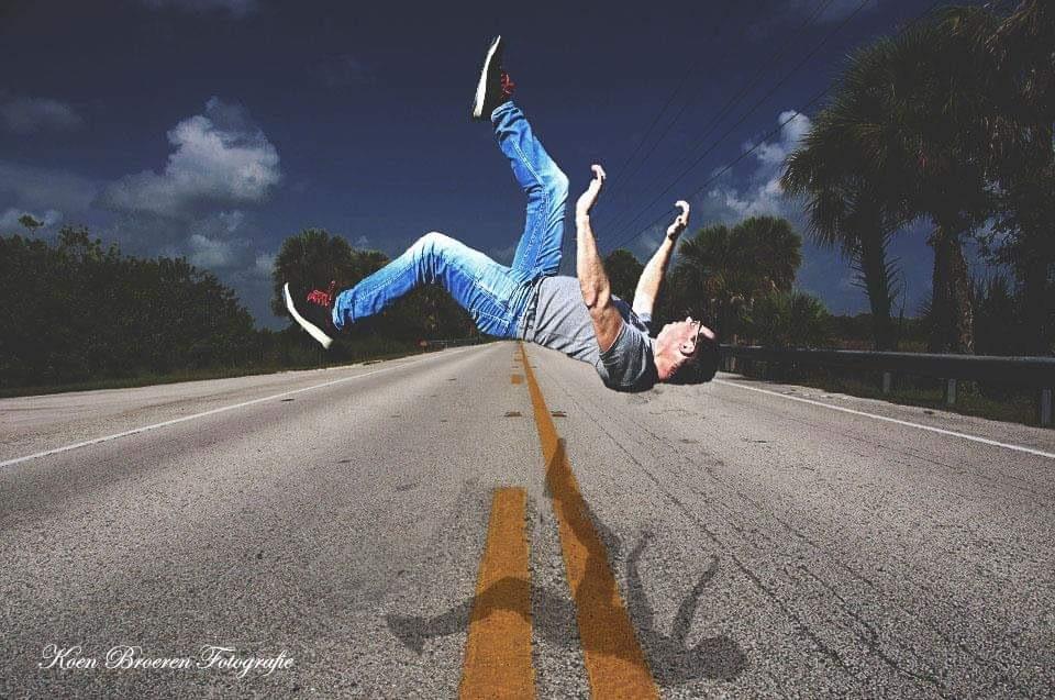 falling down by Koen Broeren Fotografie