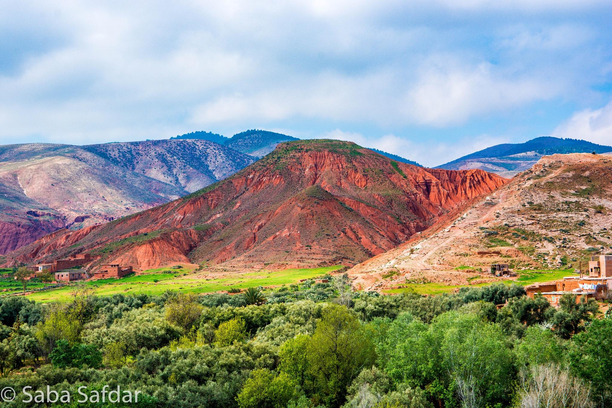 Morocco Landscape by Saba Safdar