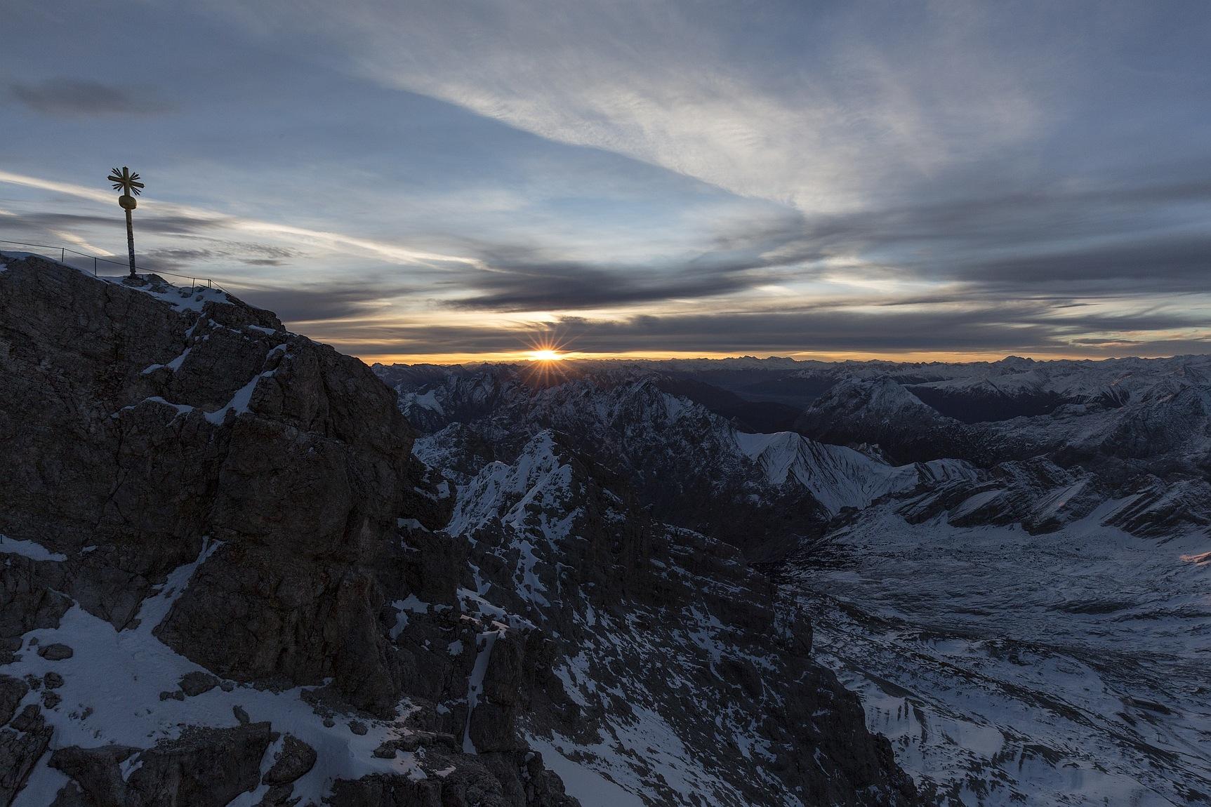 Zugspitz Sunrise by Jens Vischer