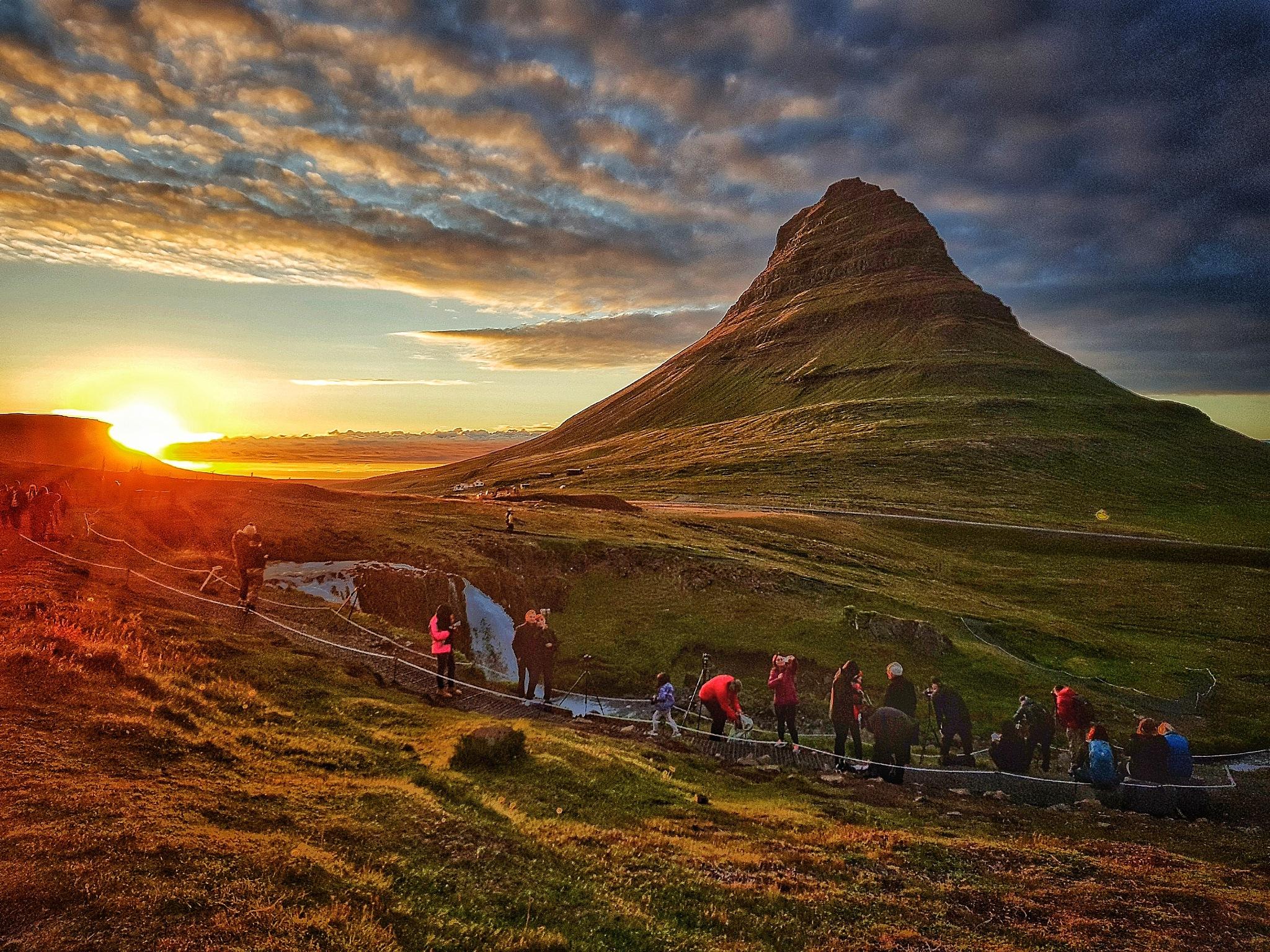 Sunset photo  by Jonas Hermansson