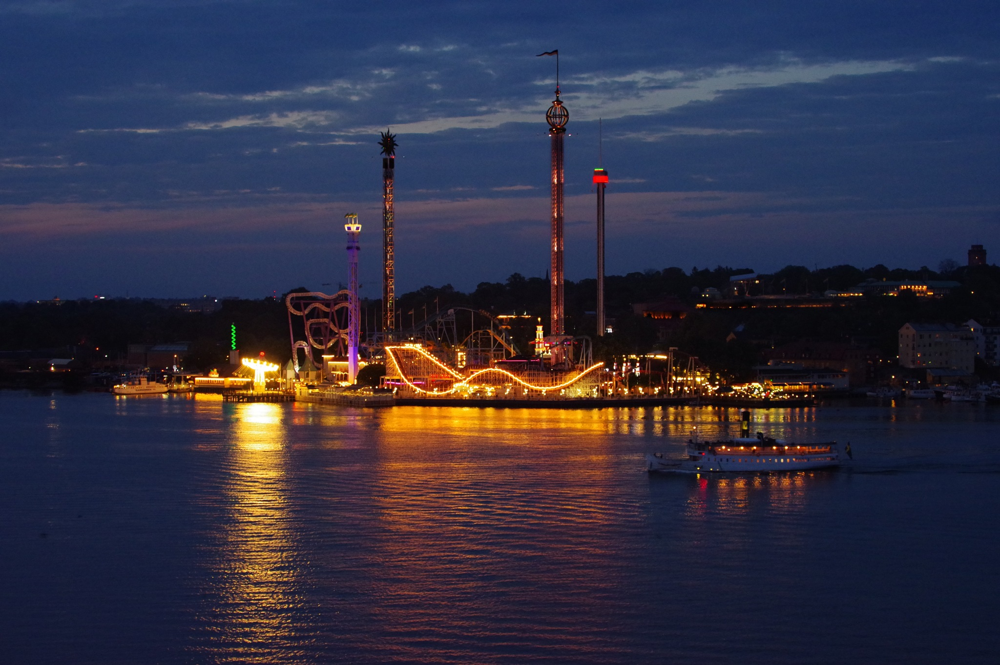 Stockholm by Night, Tivoli by Annica Nykvist