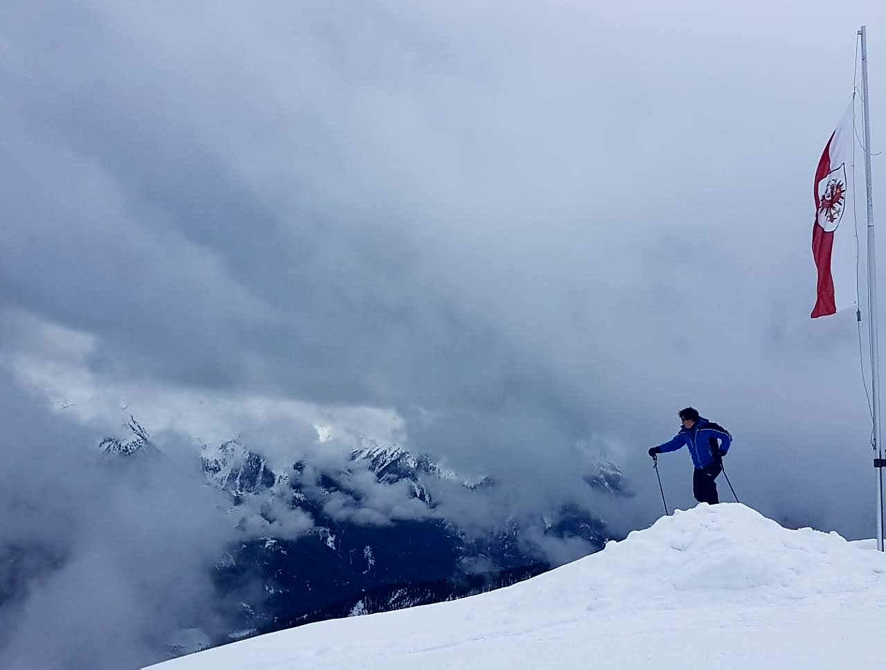My friend in the clouds by Dejan Jorganovic
