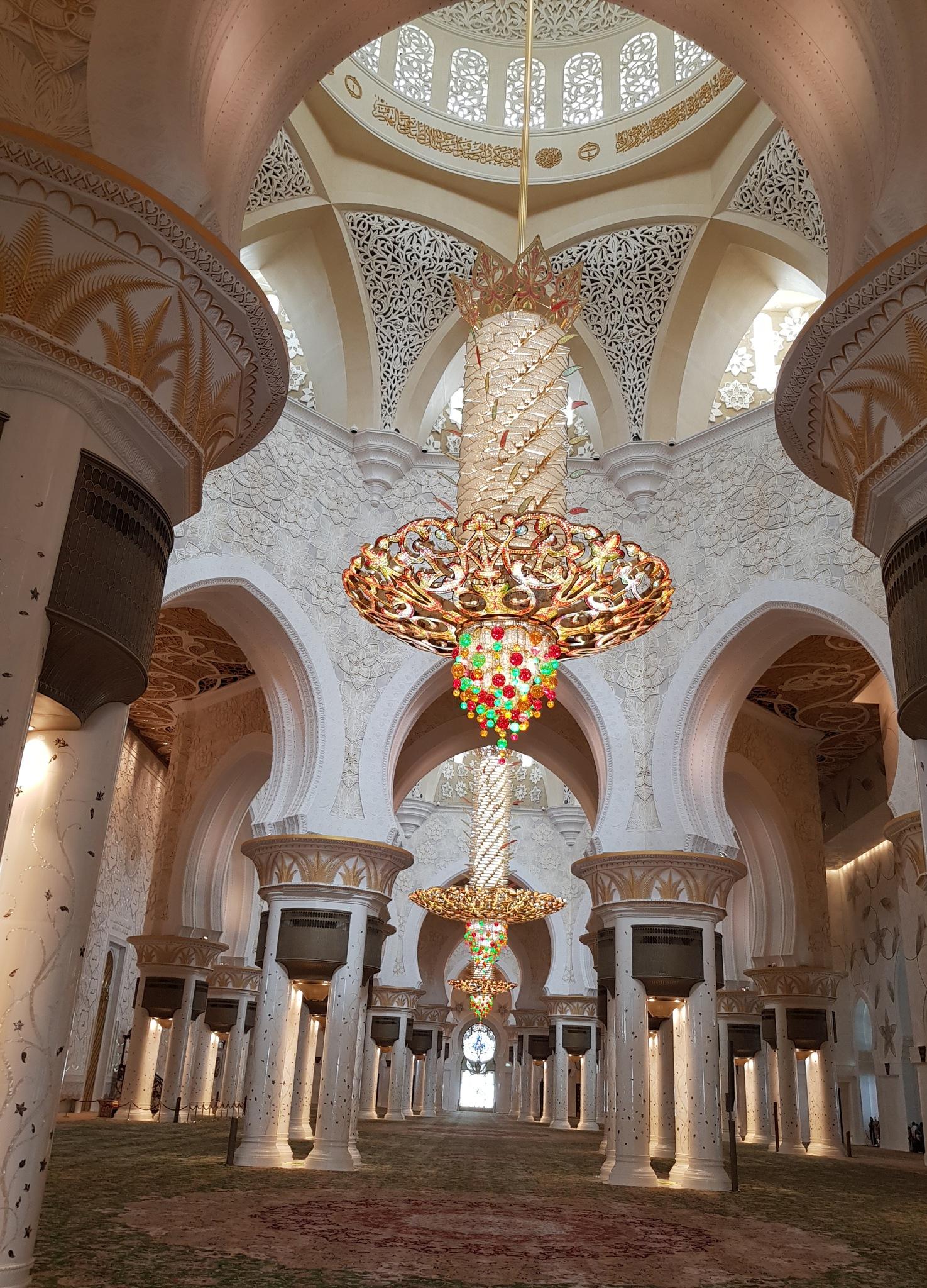 Photo in Random #swarovski crystals #luster #mosque #view