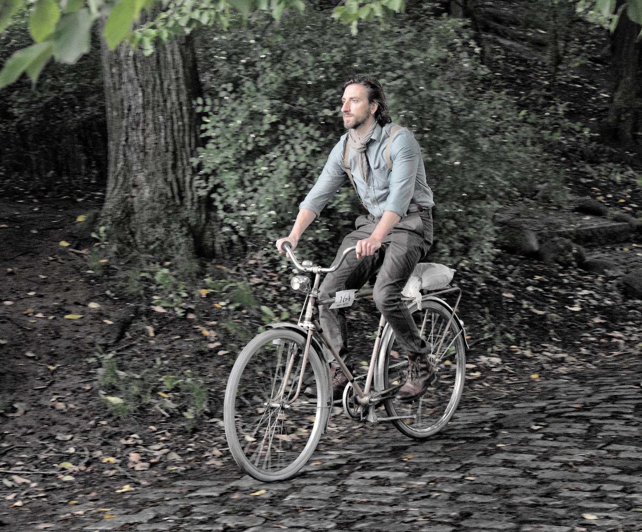 The Cyclist  by Ove Bogart Gunnarsson