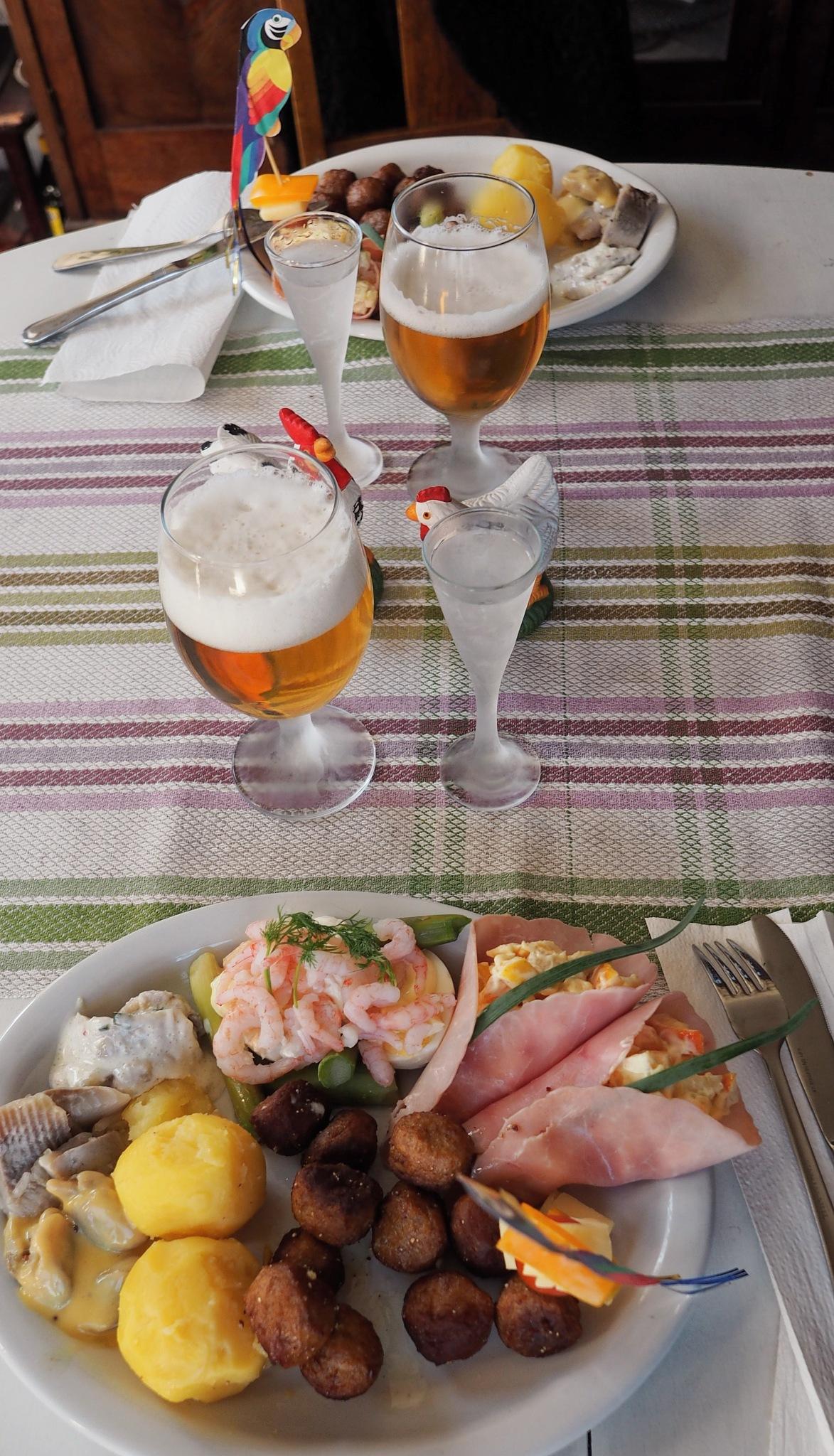 Swedish Easter Food by Ove Bogart Gunnarsson