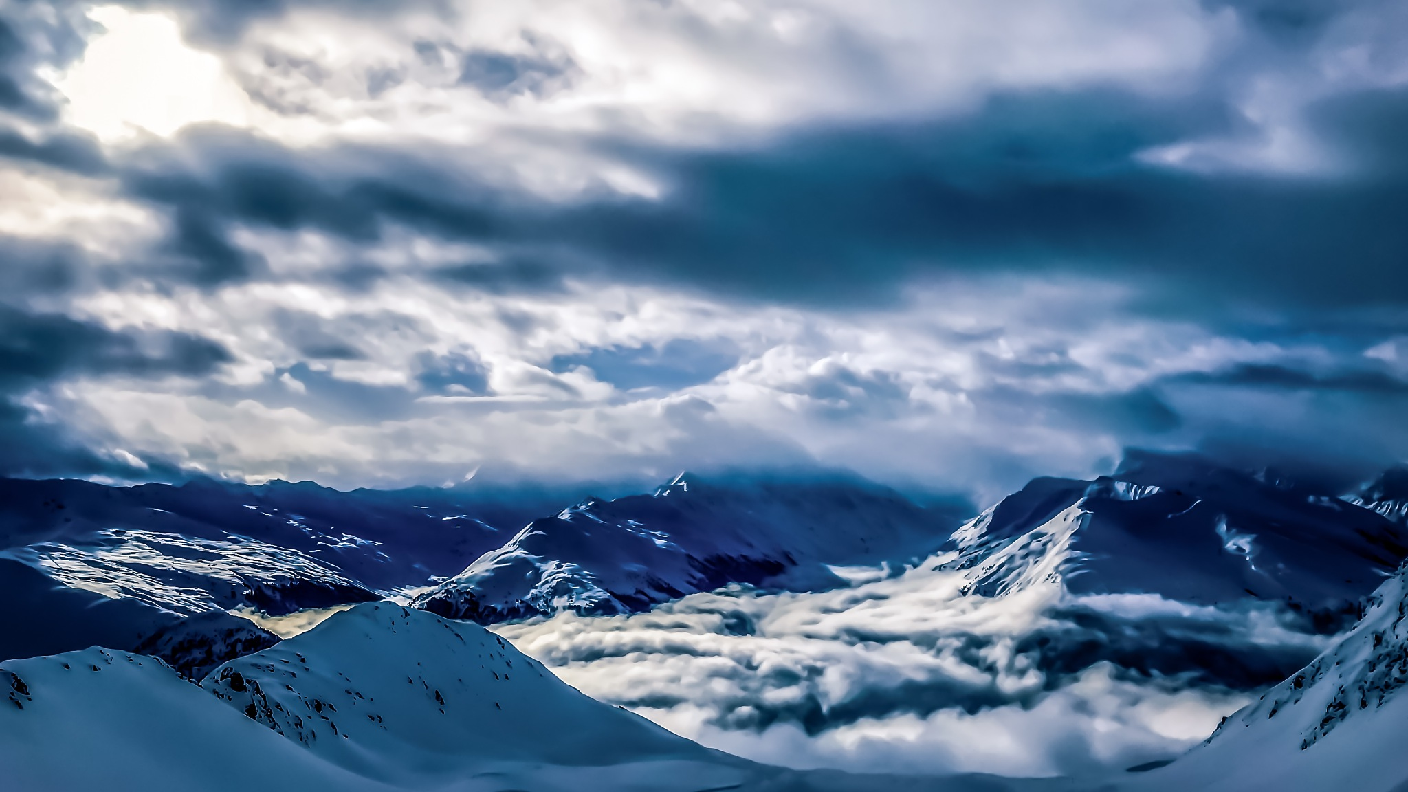Stunning Mountain View by Andreas Thomas