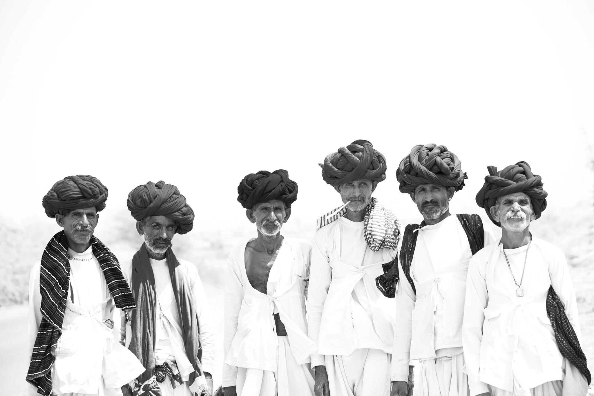 Turbans of Rajasthan by Harsh Patel