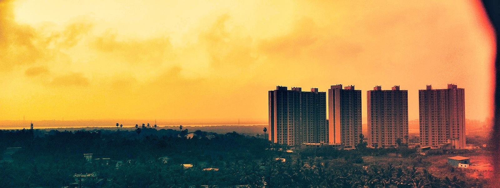 In flames by Aman Bhardwaj