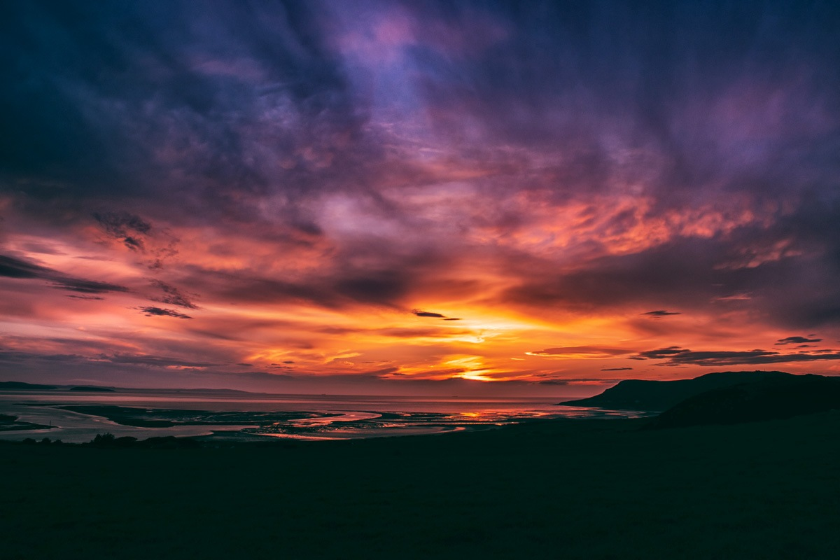 sunset Delight by Lisa Fotios