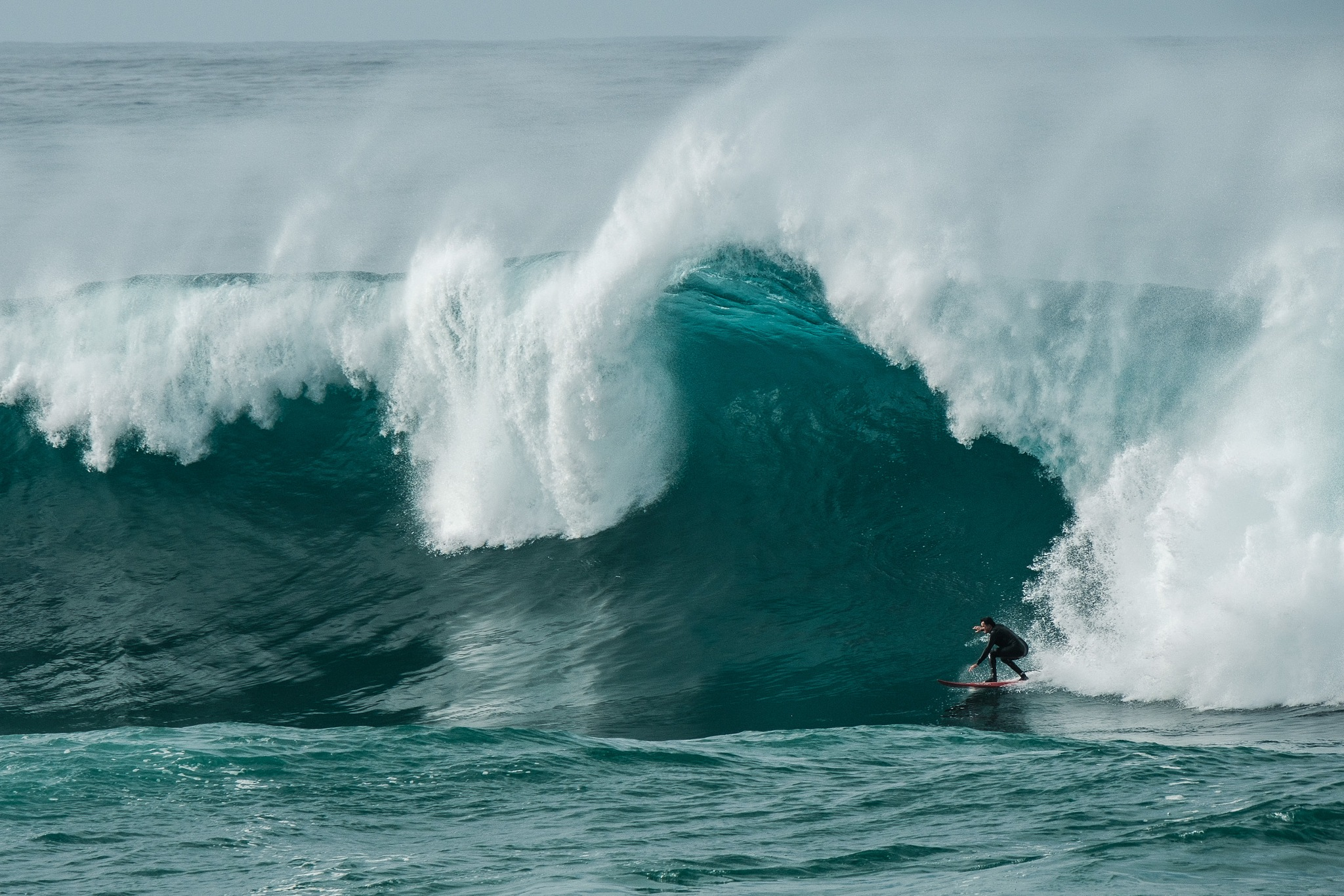 Big Wave Surfing by Miguel Angelo Silva