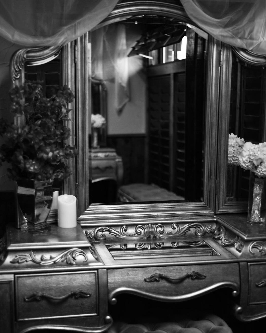 Dressing Room At A Wedding Venue  by Nicolas Restrepo