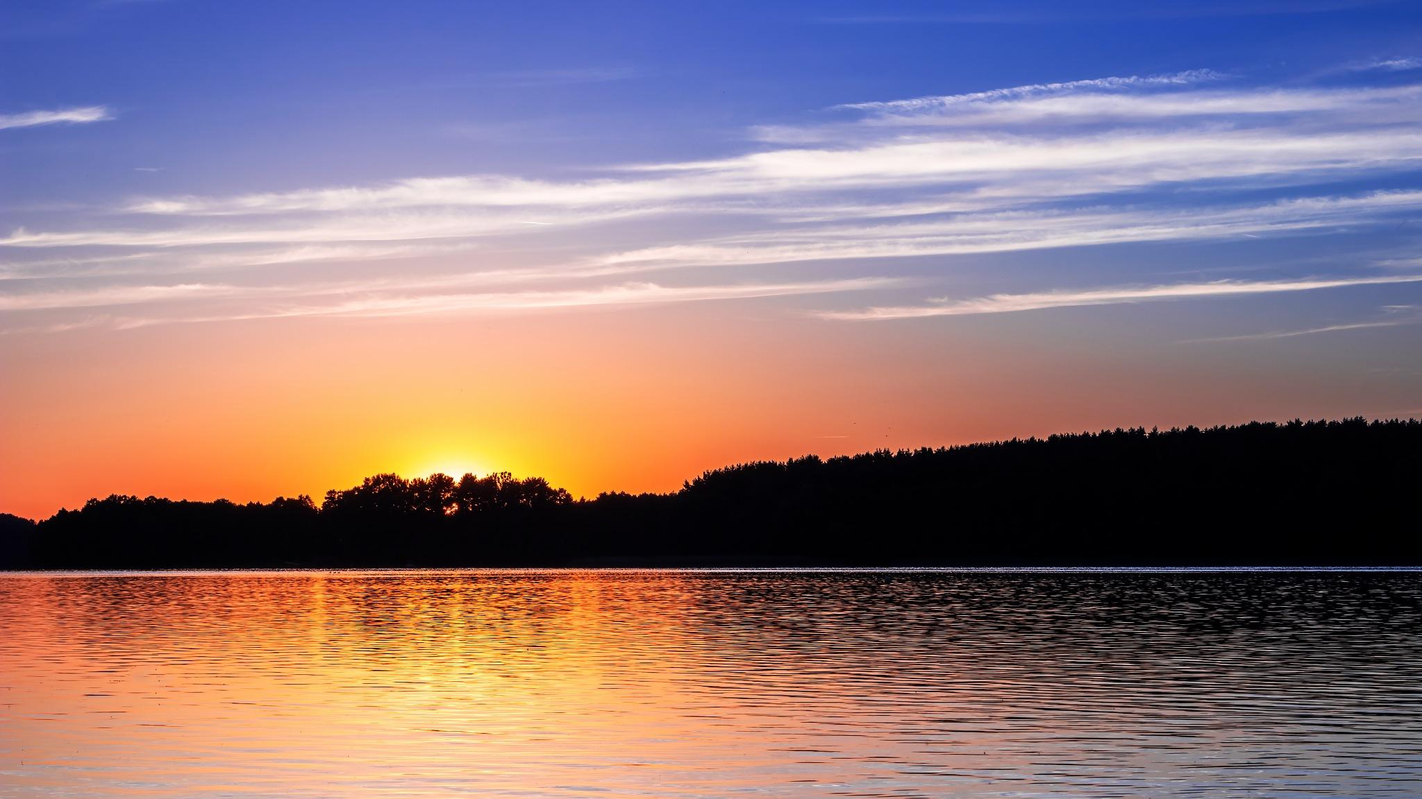 sunset by Paweł
