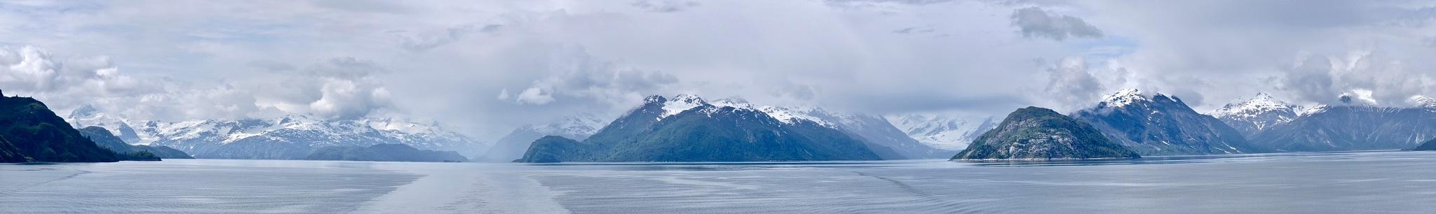 Glacier Bay Panorama by Martin M Kaplan