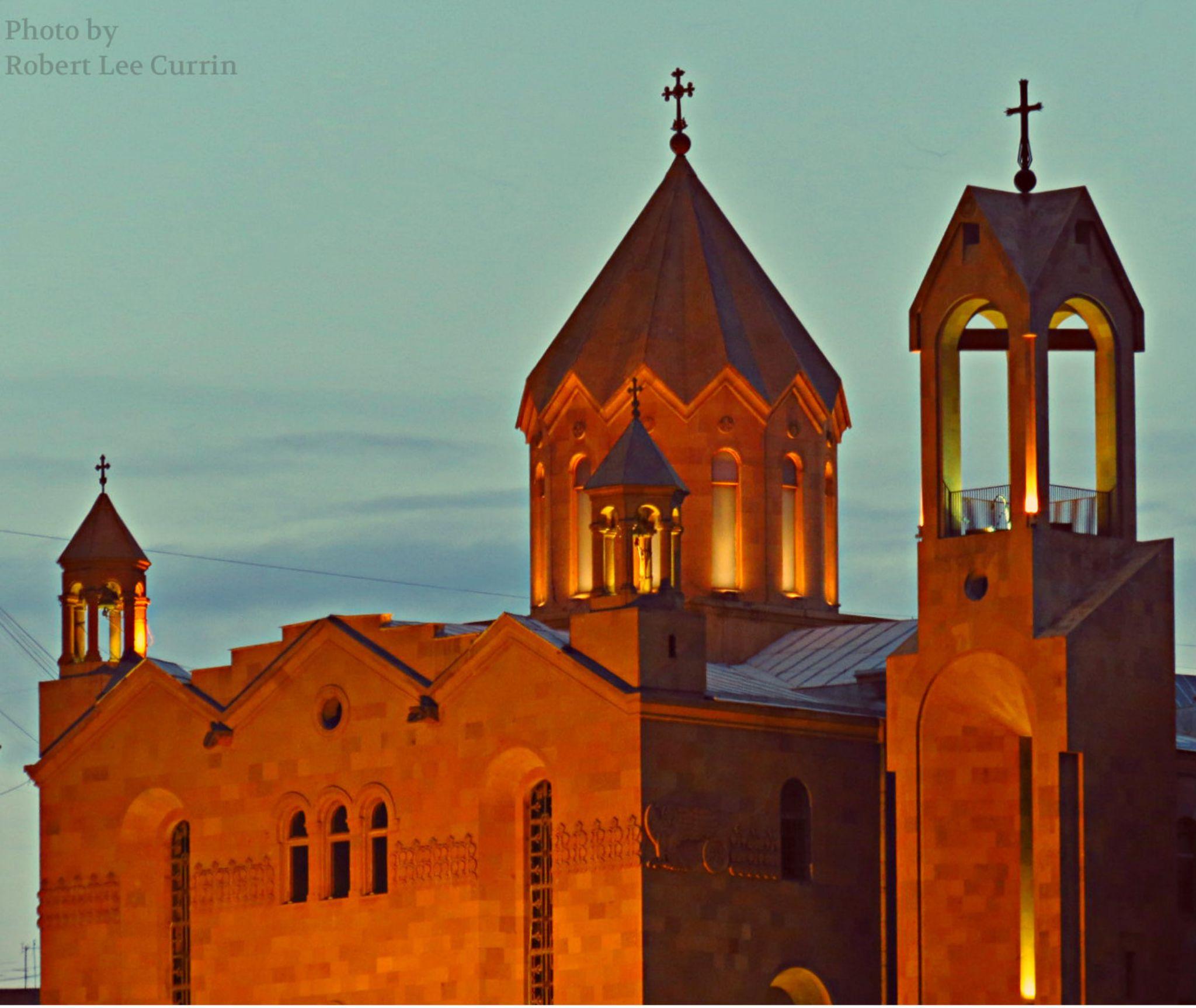 Armenian Church by Robert Lee Currin ll