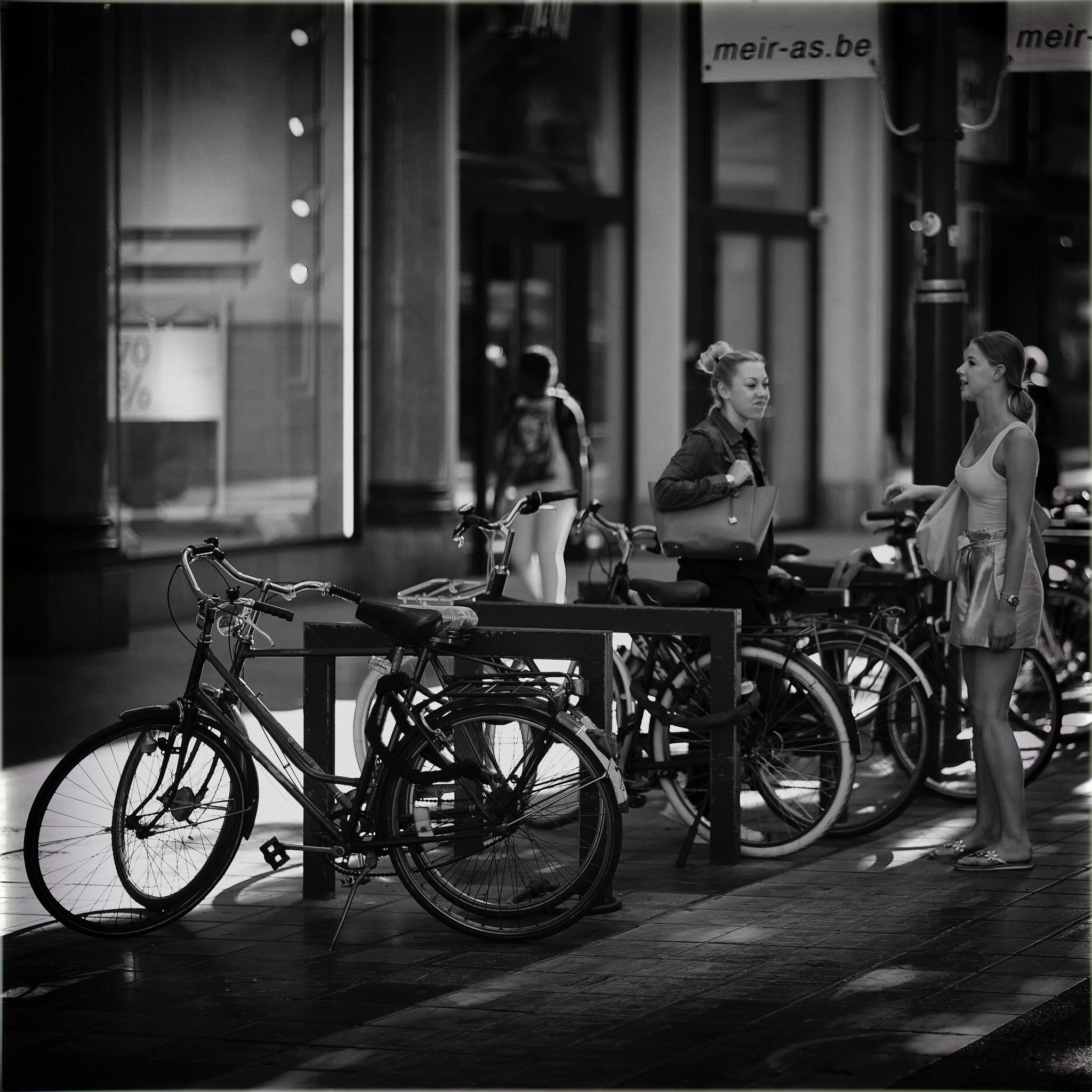Bien étonnées de se trouver ensemble by Fouquier