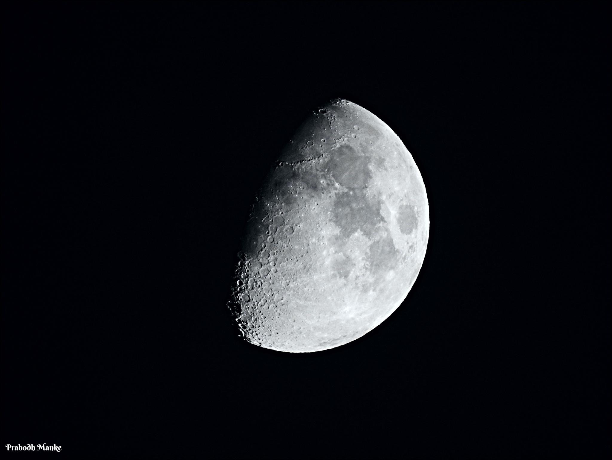 Shades of Moon ... by Prabodh