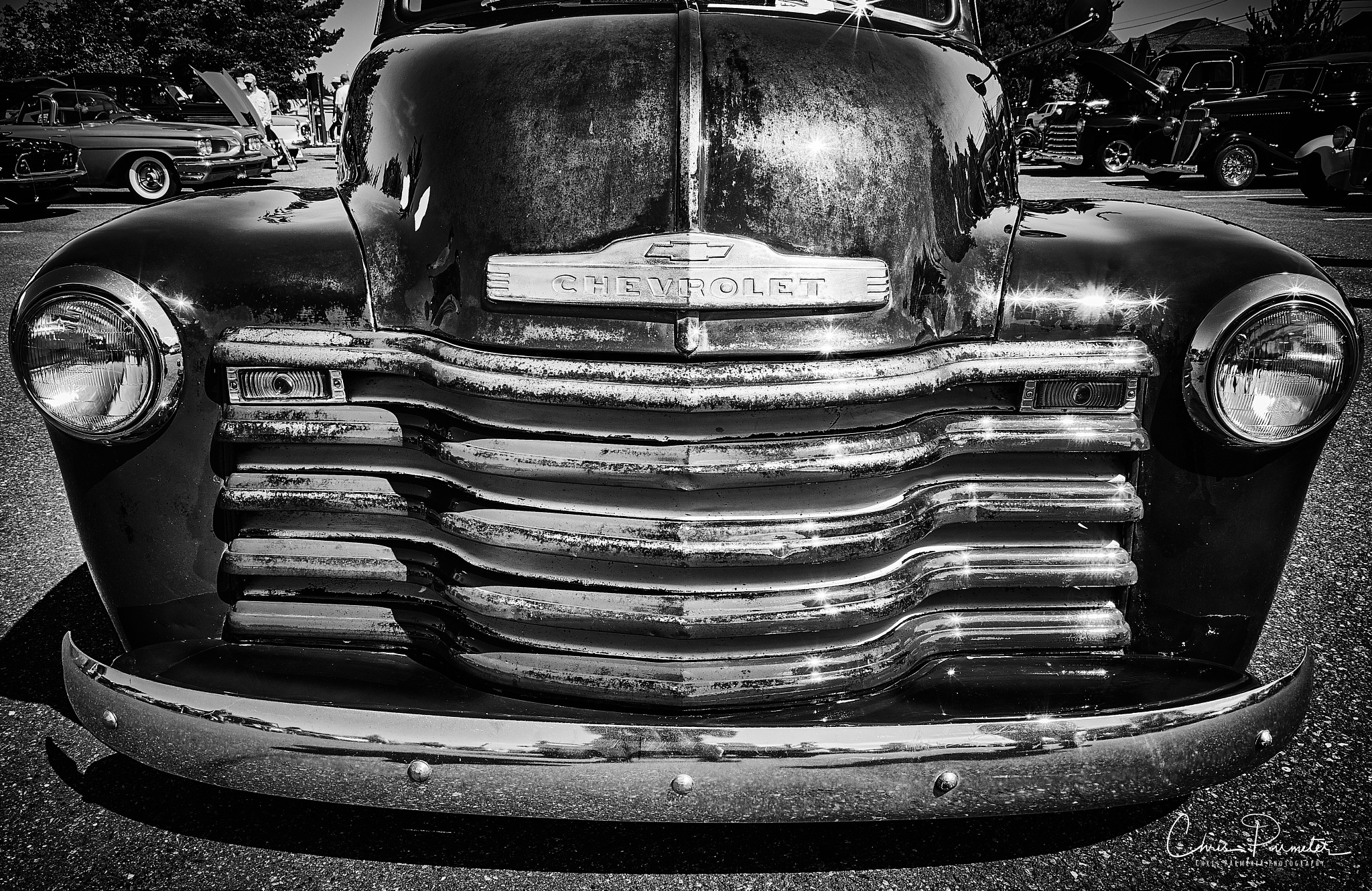 1951 Chevy 3100 truck. by Wet Dog Studios