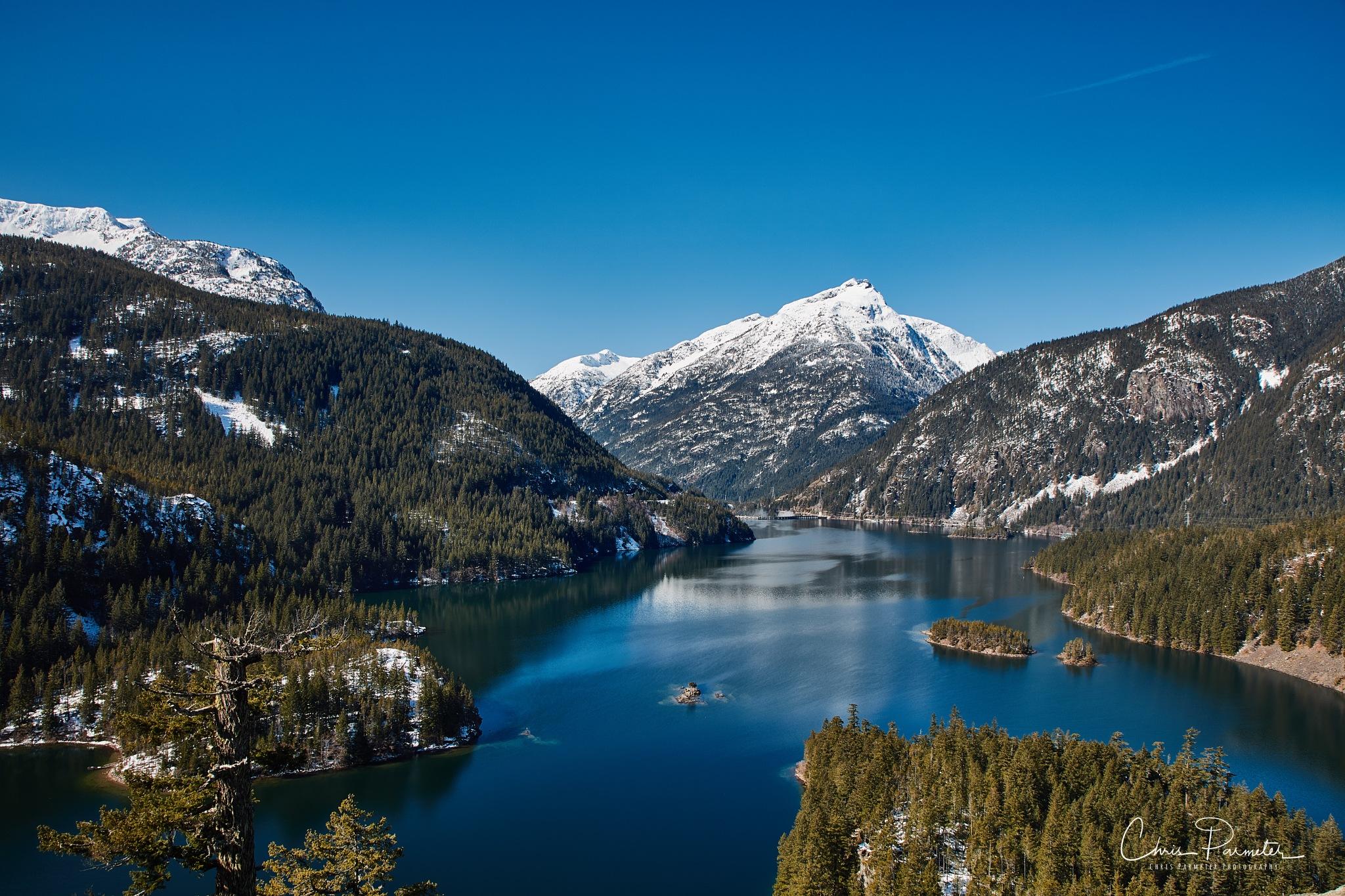 Diablo Lake, WA by Chris Parmeter