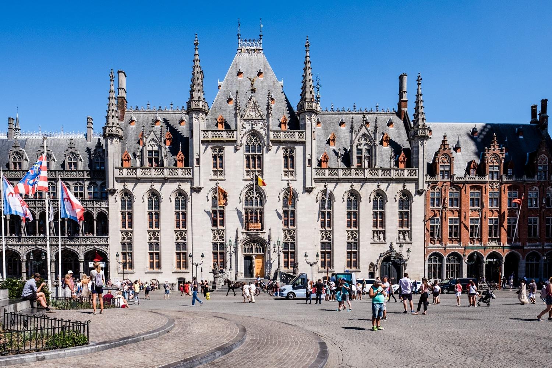 Bruges Market by Malc Burke