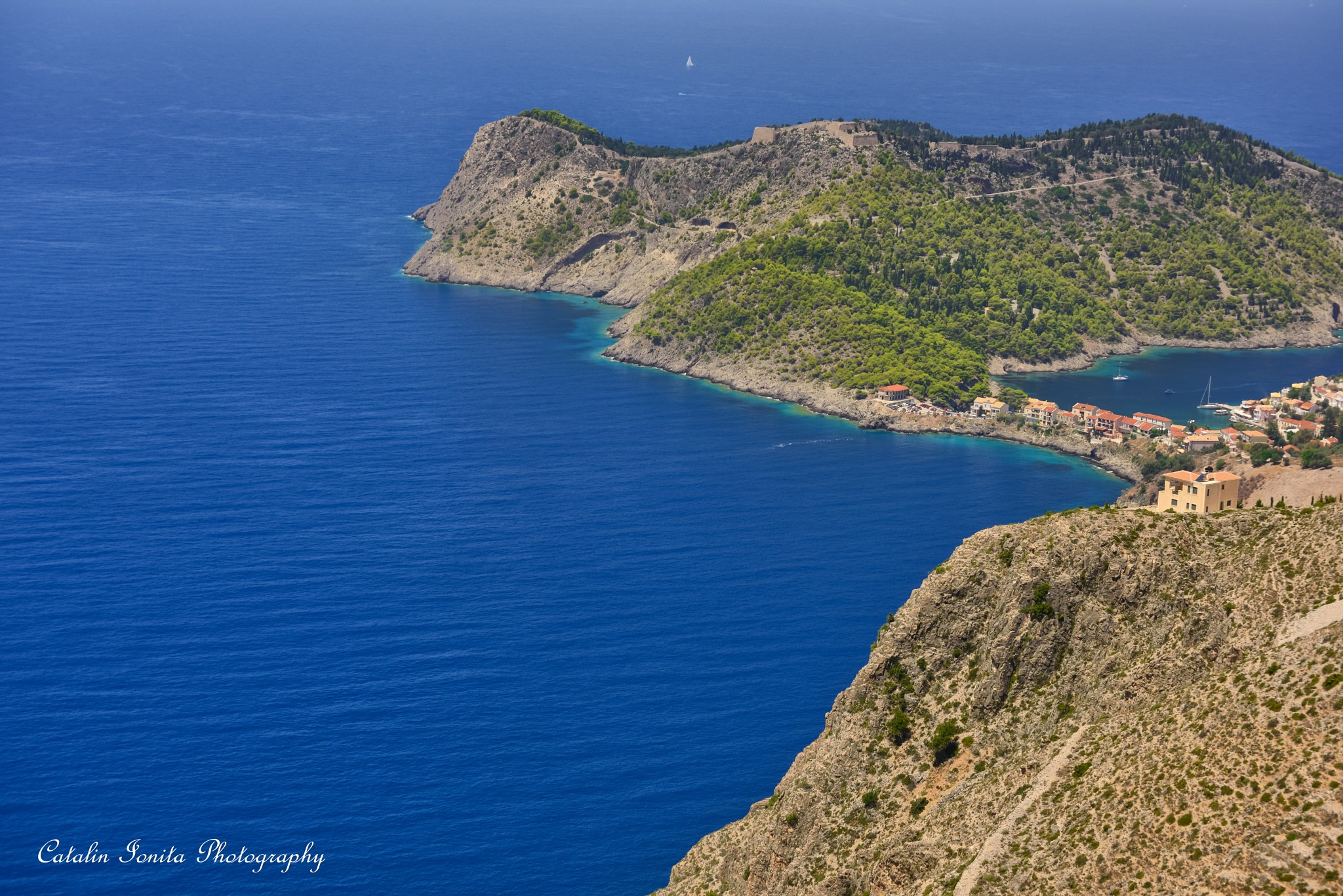 New fortress in Kefalonia by CatalinIonitaPhotographer