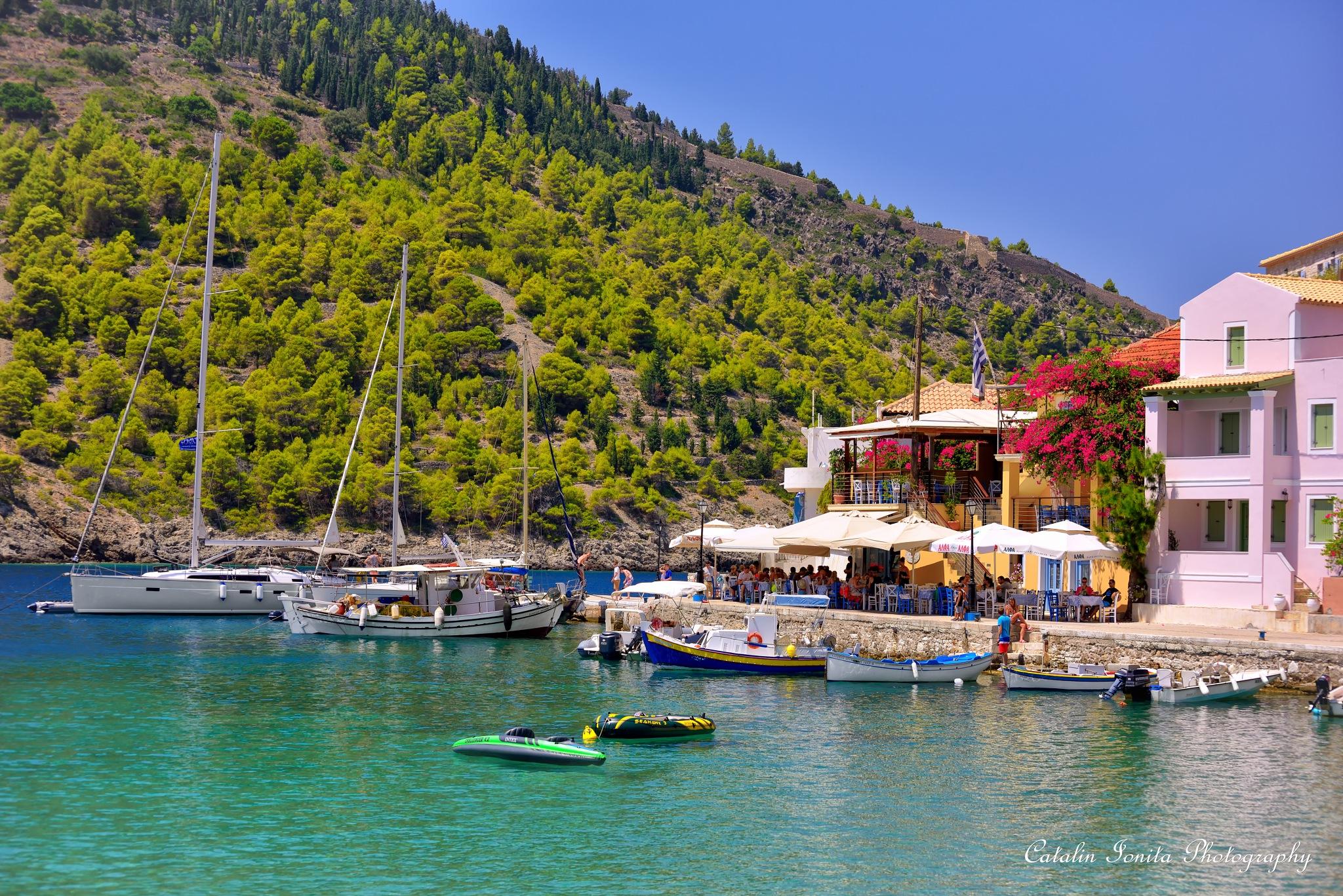 Assos harbor by CatalinIonitaPhotographer