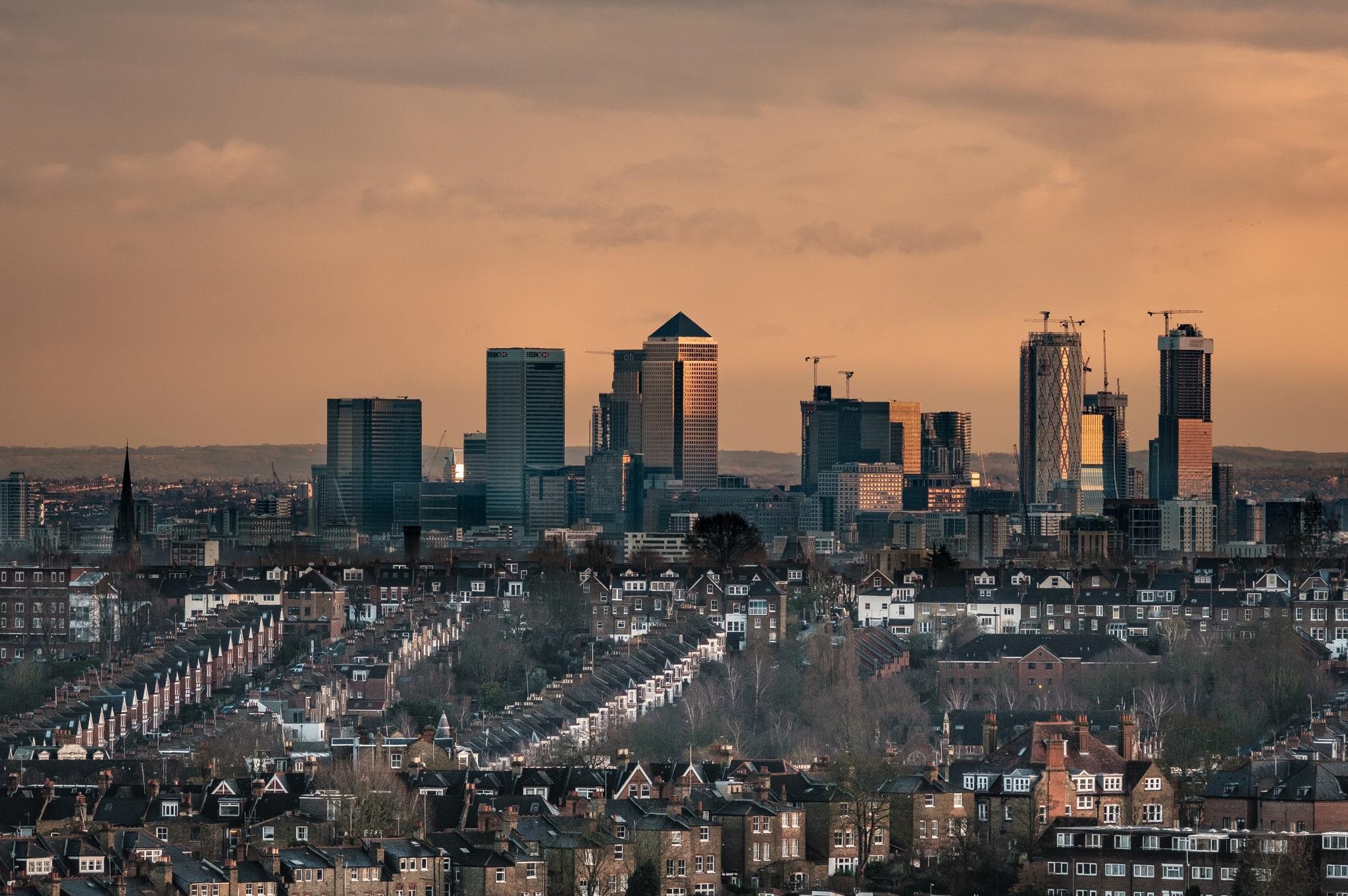 Canary Wharf, London by dionysis morfis